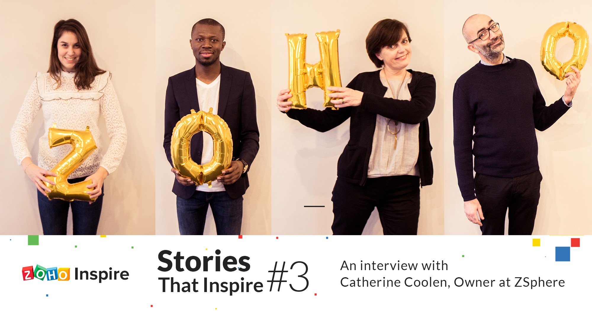 Stories That Inspire #3: How Catherine's passion is reinventing CRM consulting in France