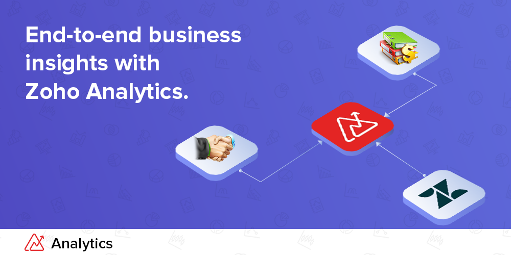 Extract end-to-end business insights with Zoho Analytics