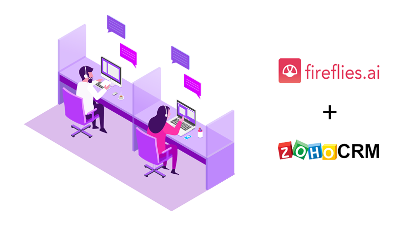 How Fireflies for Zoho CRM Can Increase Your Sales Productivity By 62%