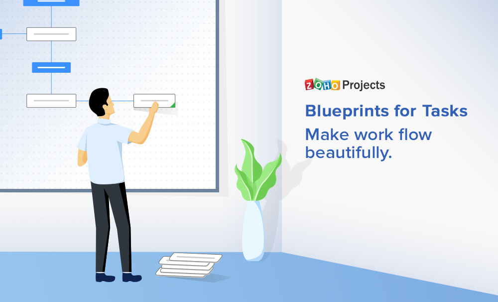 Blueprint in Zoho Projects: Adding life to your task's life cycle