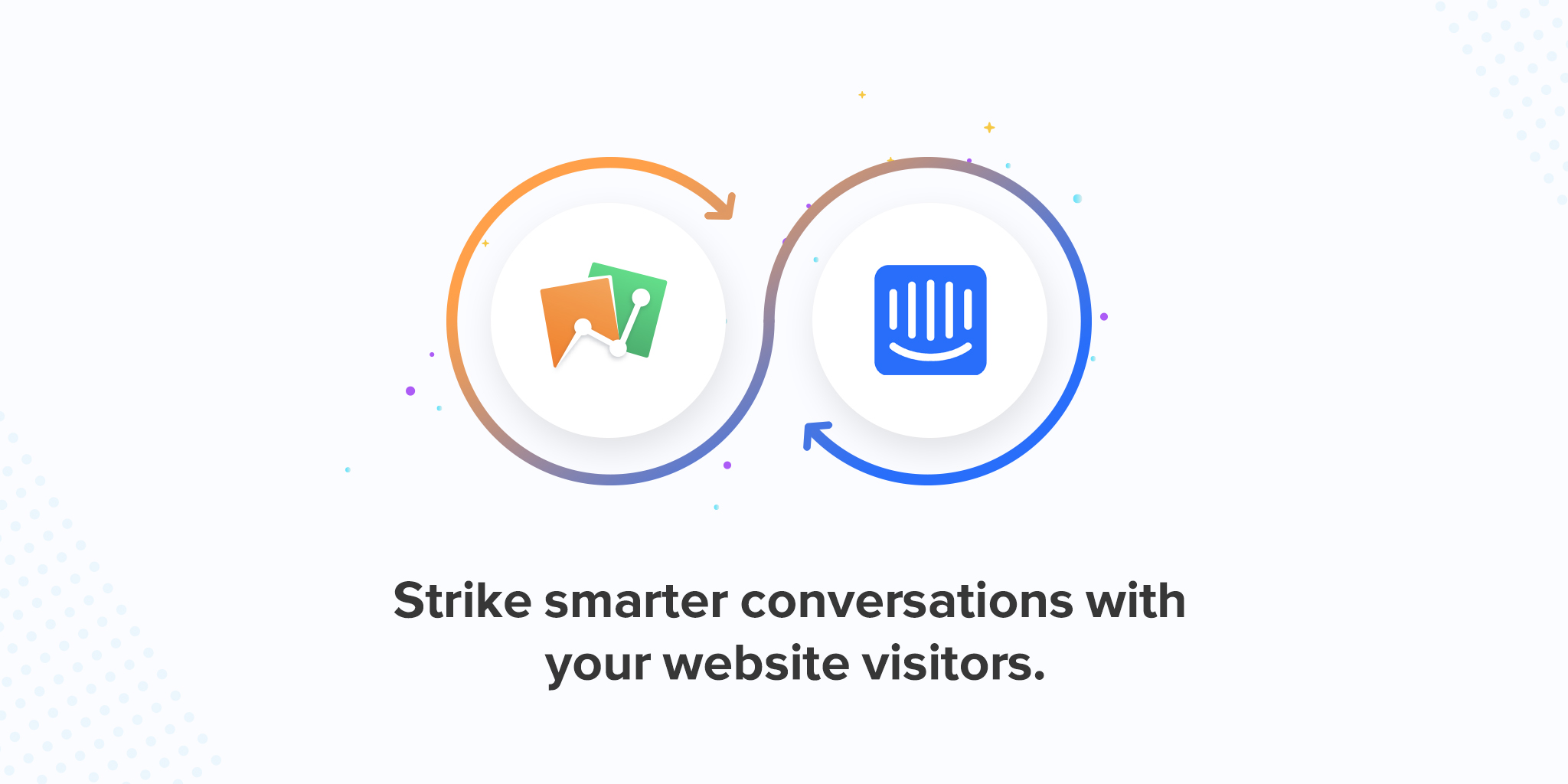 Zoho PageSense + Intercom—add context to your conversations