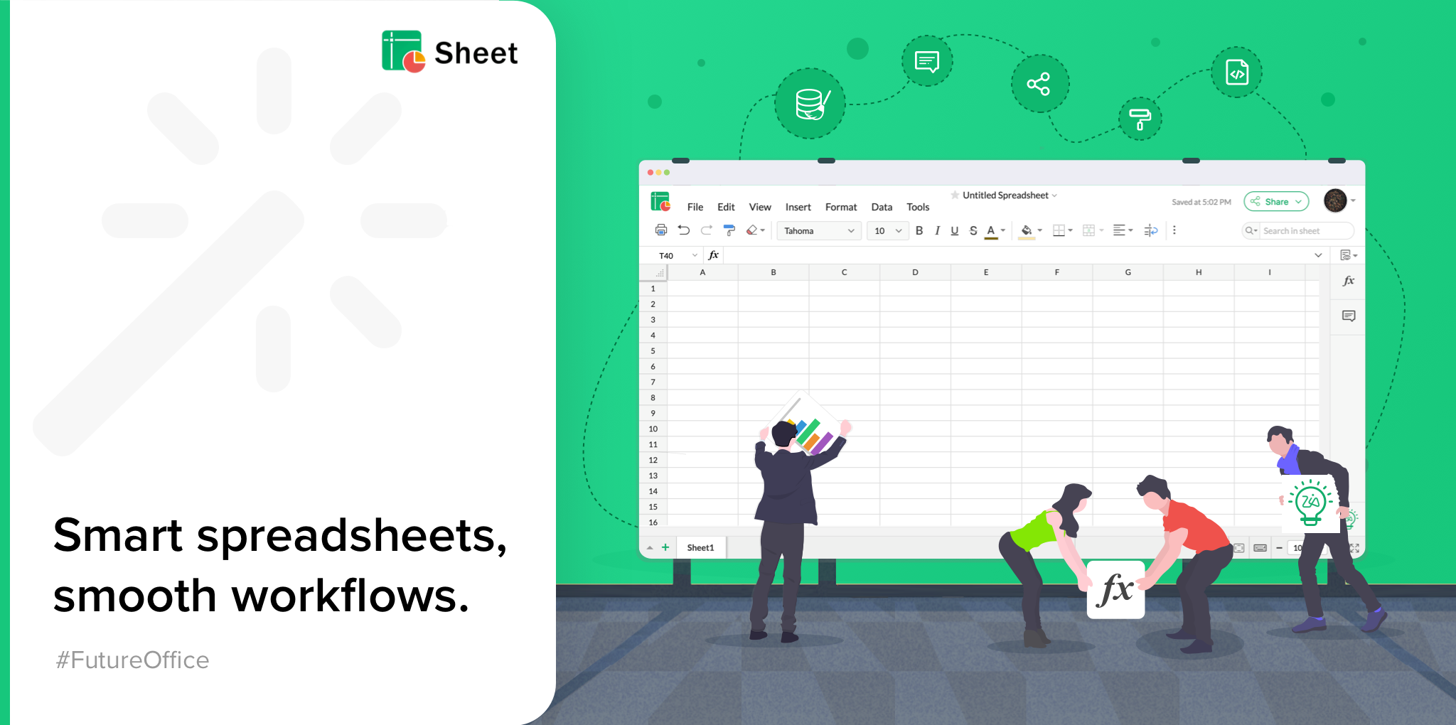 Introducing Sheet 5—Bringing you smarter analytics and new integrations