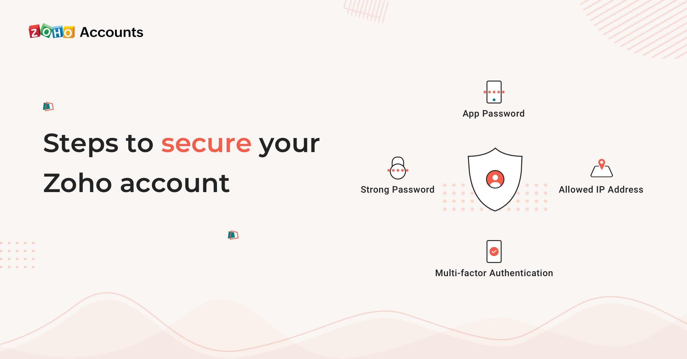 Steps to secure your Zoho Account