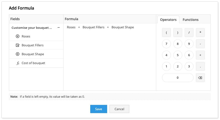 online order form builder
