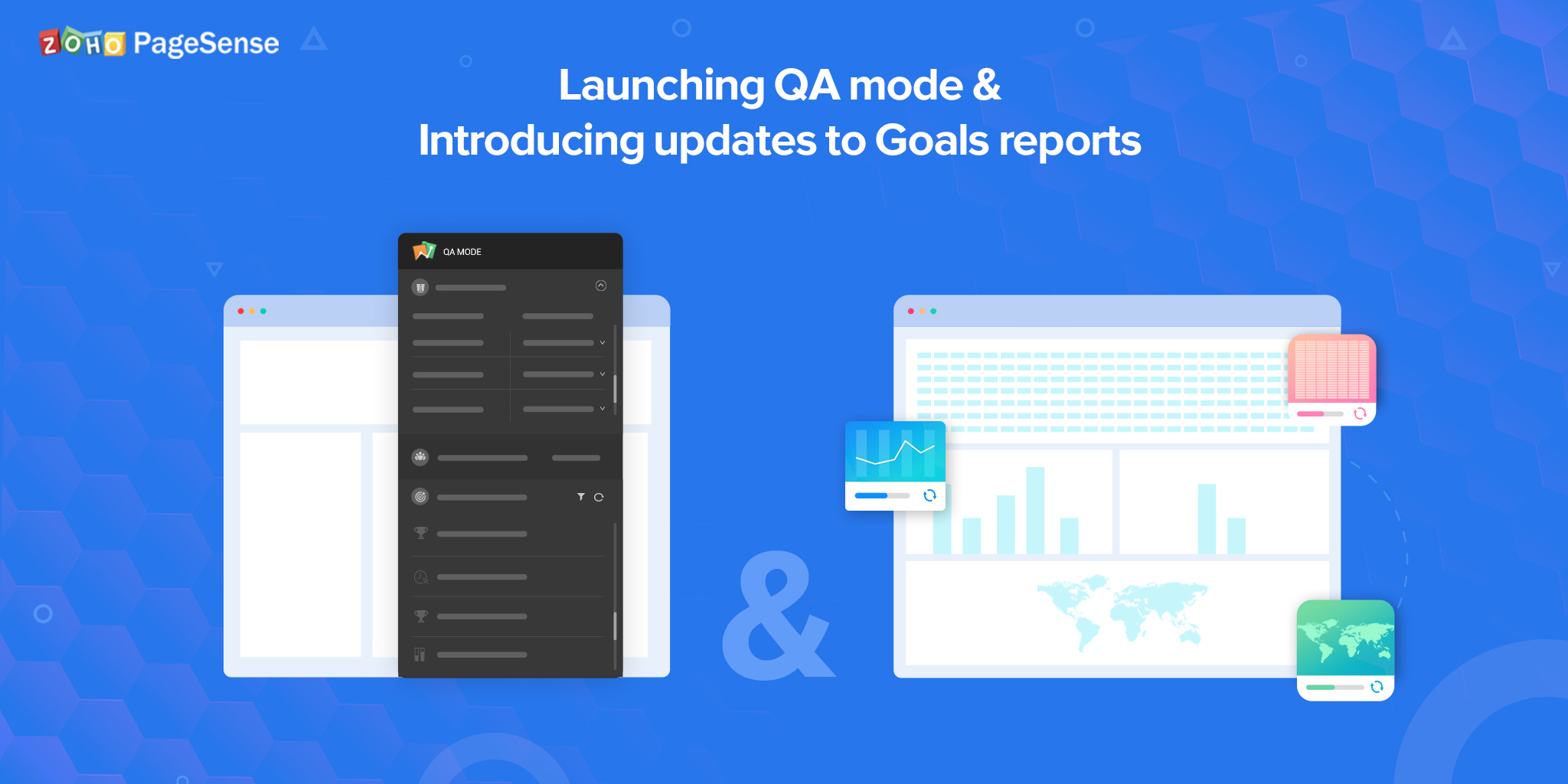 QA Mode and Goals Reports Update in PageSense