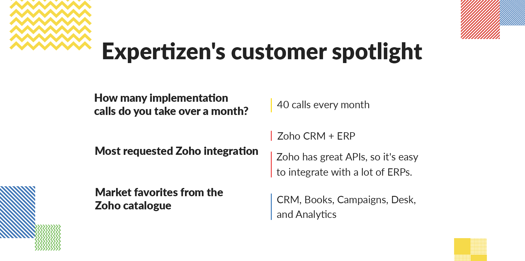 Expertizen | Customer Spotlight | Zoho partner