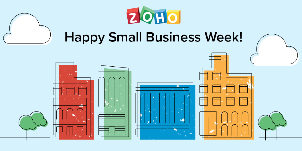 Celebrating Small Business Week with Zoho Customer Multiplying Good