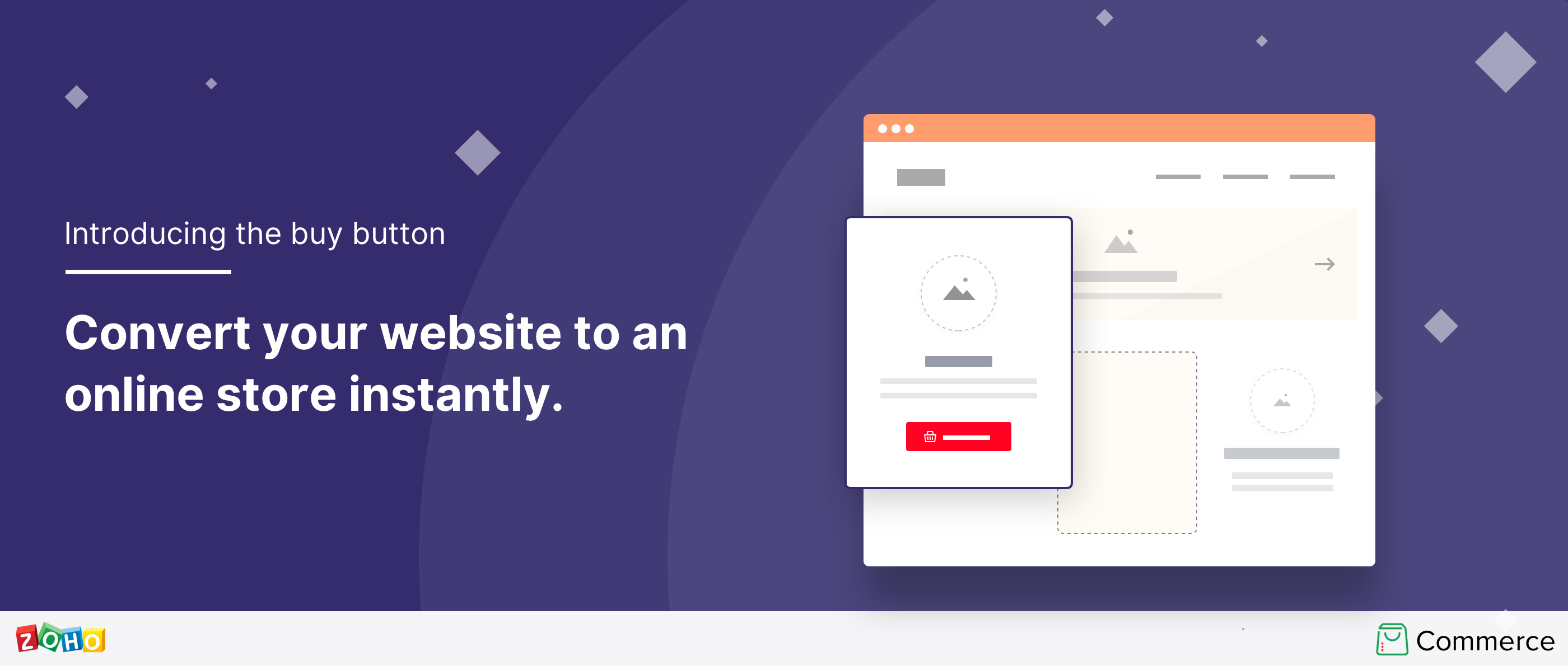 Introducing the buy button:  Convert your website into an online store instantly