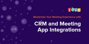 Online Meeting Applications for Zoho CRM