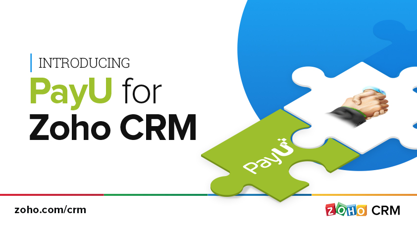 Introducing PayU for Zoho CRM