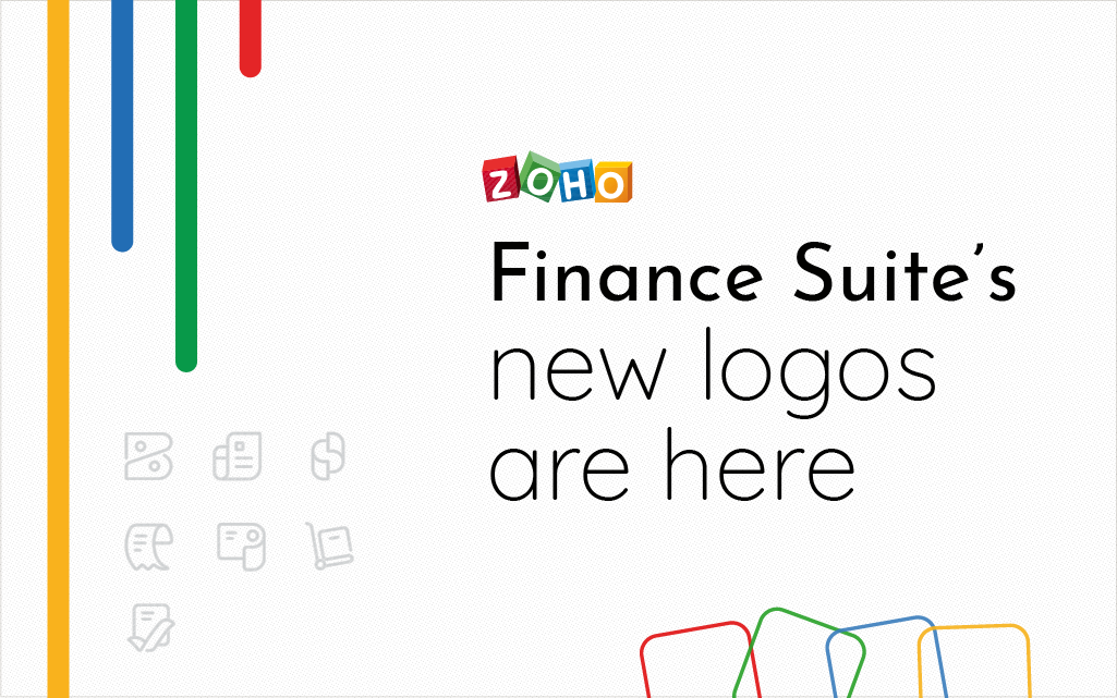Renascence of our design lore: the story of Zoho Finance Suite's new logos