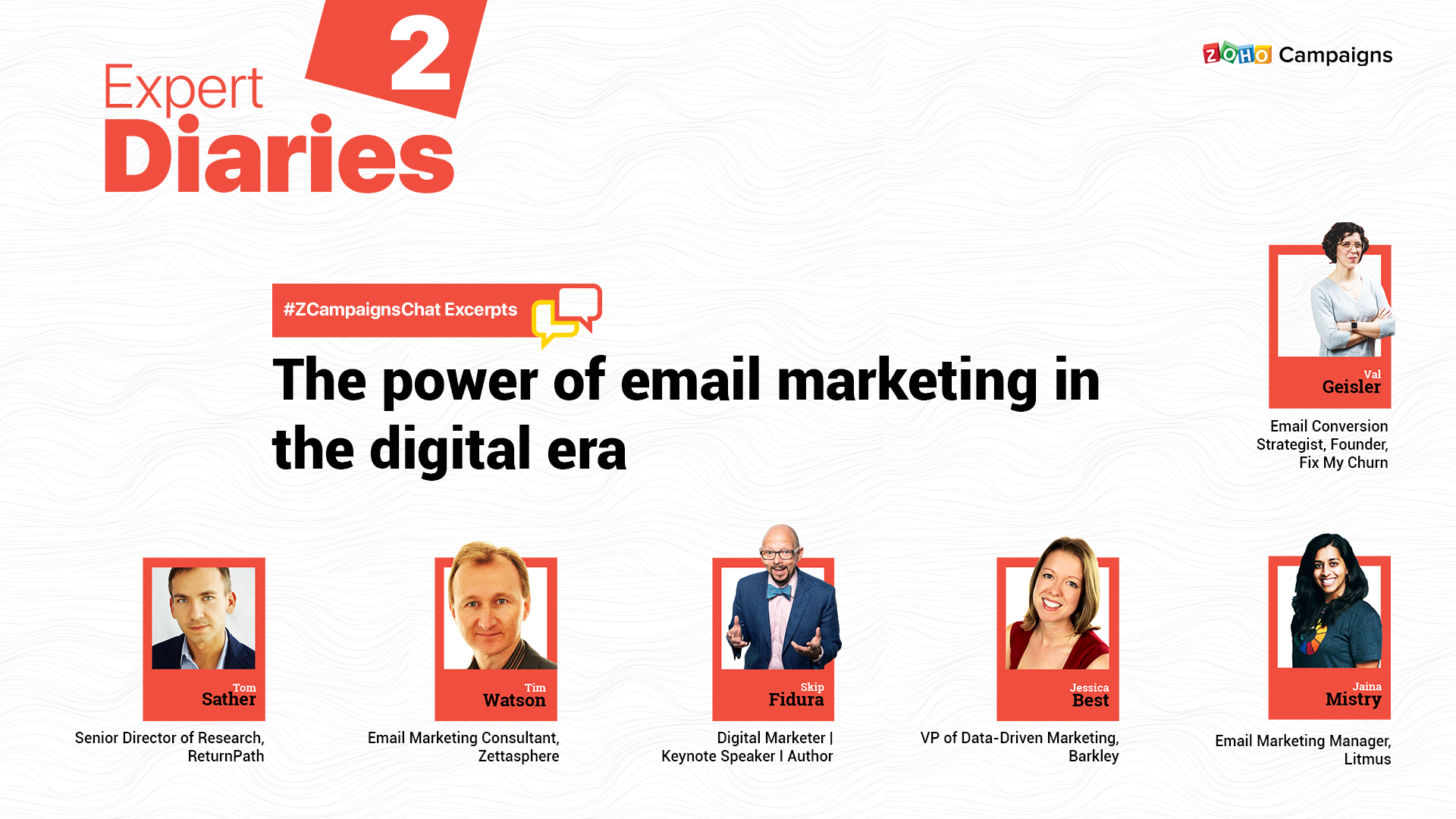 #ZCampaignsChat Recap: The power of email marketing in the digital era
