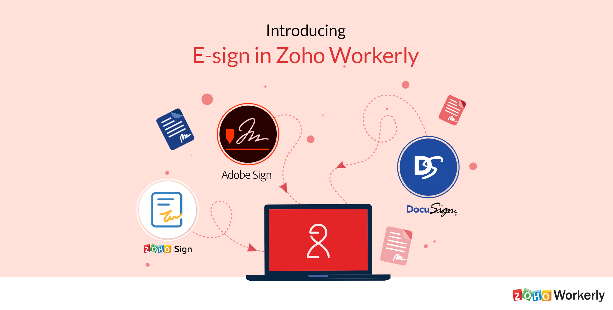 Approvals Made Faster with E-Sign in Zoho Workerly