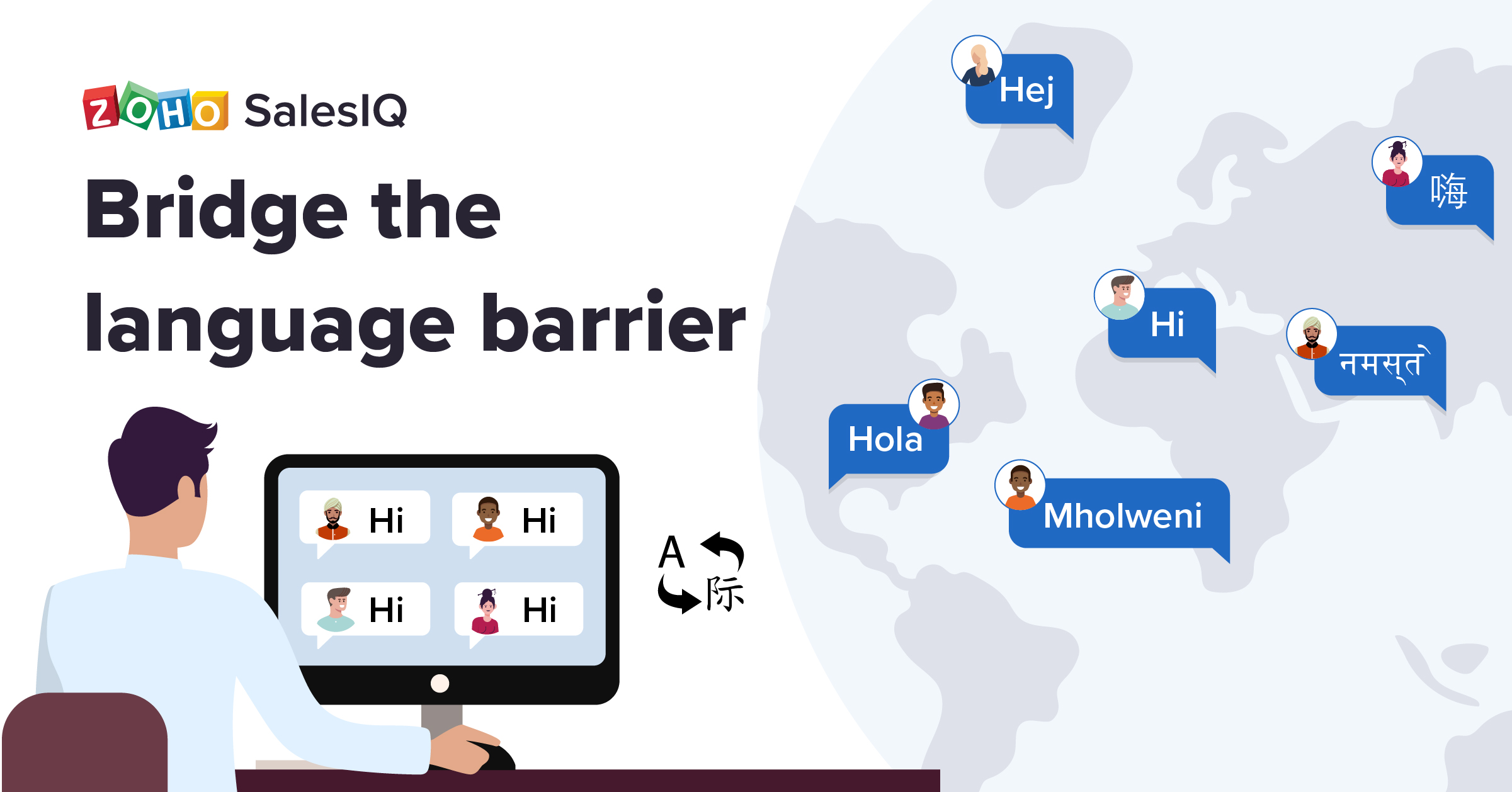 Go multilingual for great customer experience