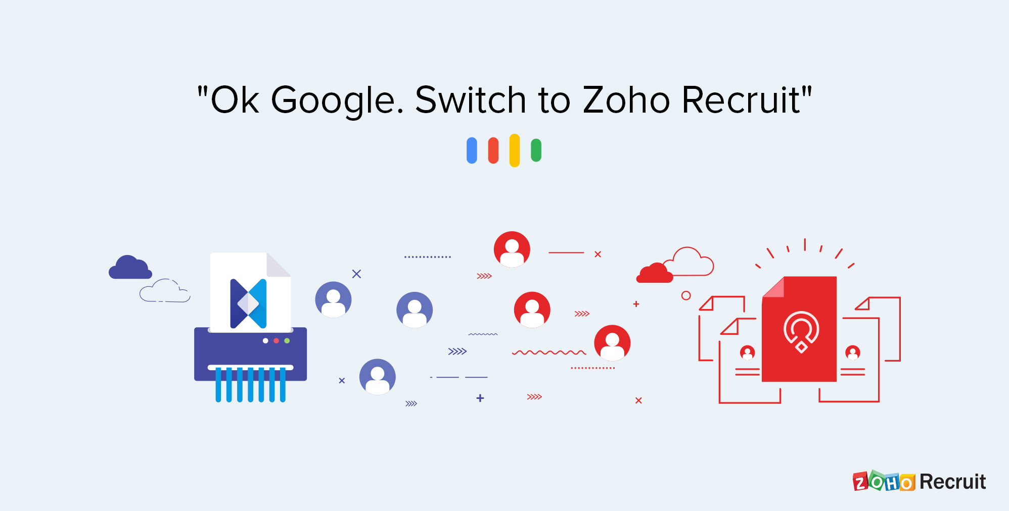 Best alternative to Google Hire | Zoho Recruit