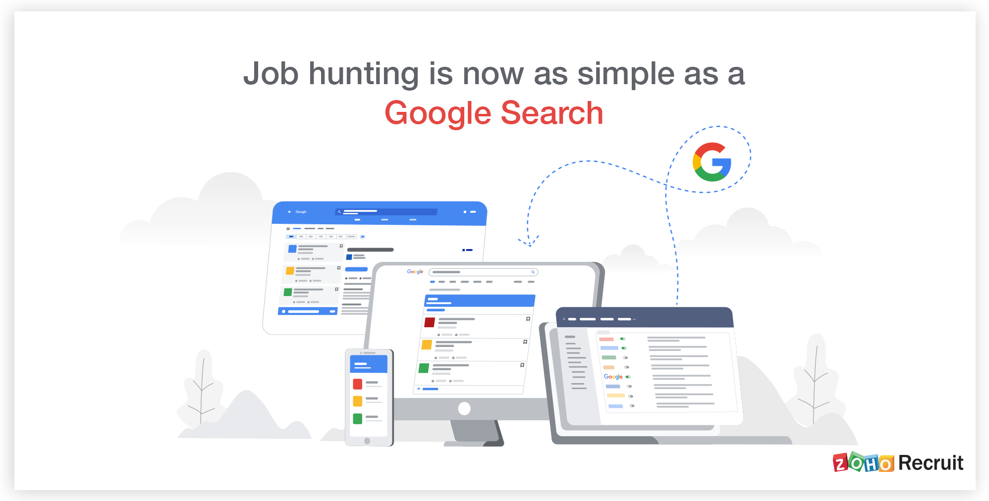 Get your jobs to the top of Google Search with Zoho Recruit