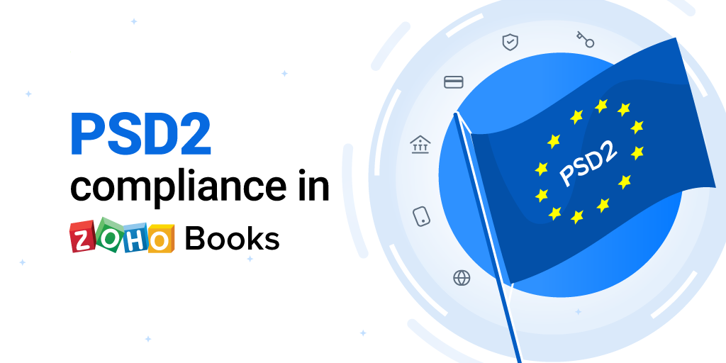 PSD2 compliance in Zoho Books