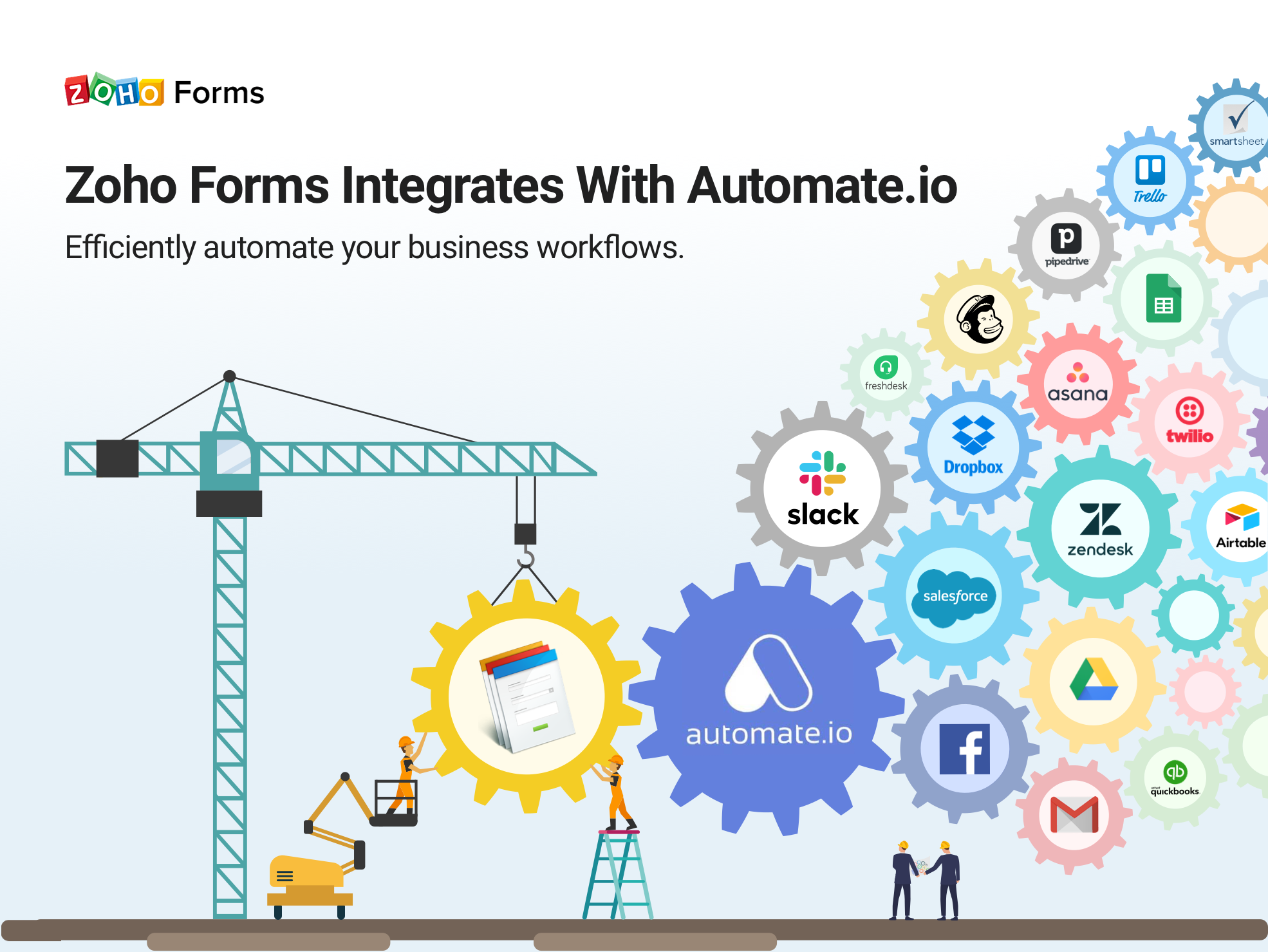 Enhance Your Productivity with the Zoho Forms-Automate.io Integration
