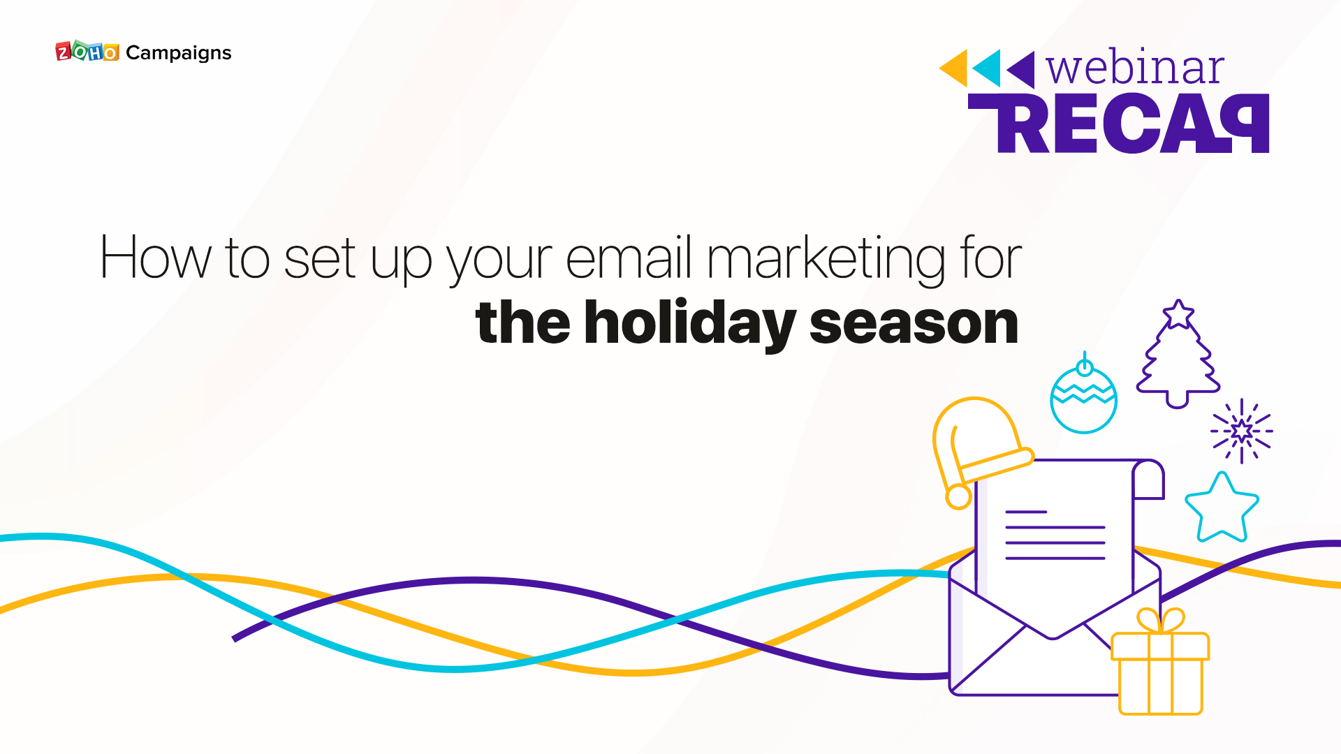 Webinar Recap: How to set up your email marketing for the holiday season