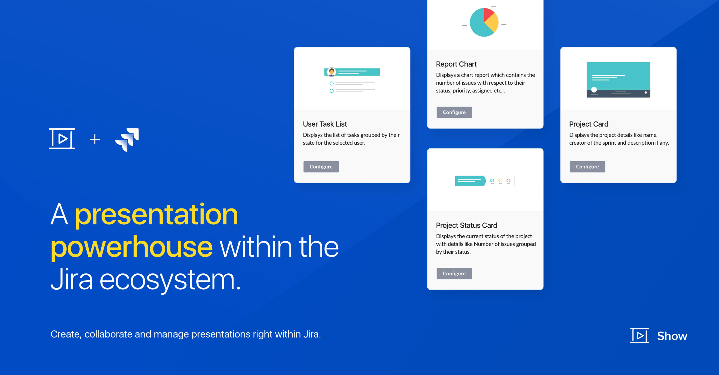 Introducing Zoho Show for Jira: A presentation tool for all your project management needs