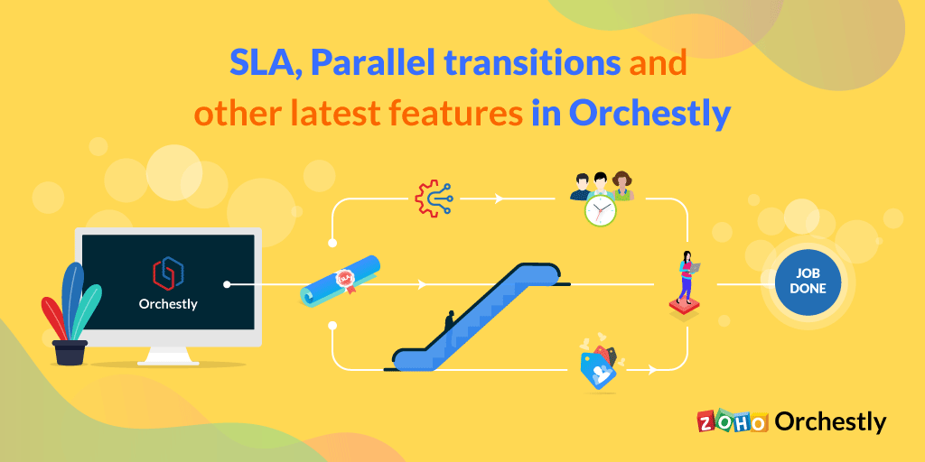 SLAs, parallel transitions, and more new features in Orchestly