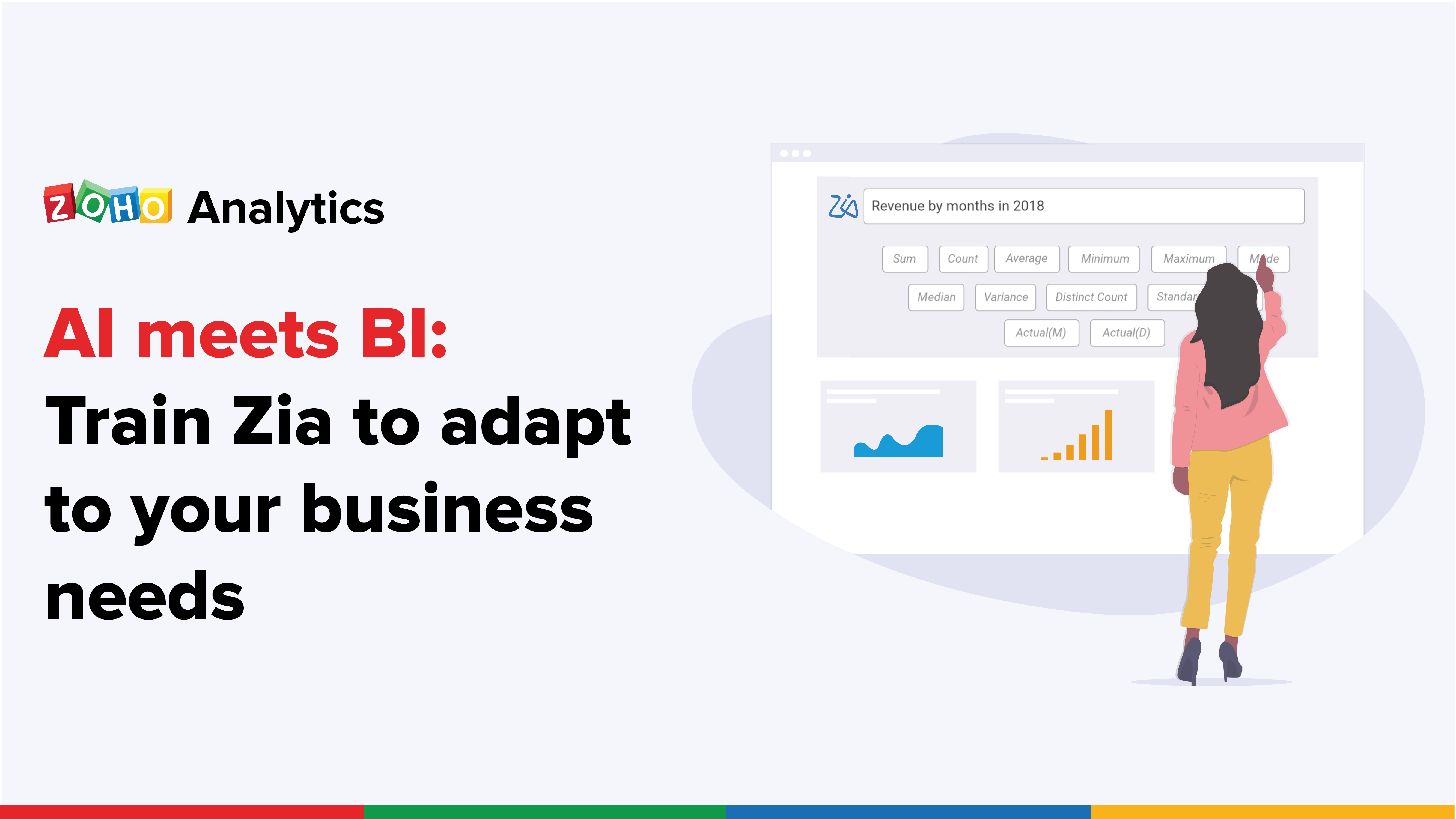 AI meets BI: Train Zia to adapt to your business needs