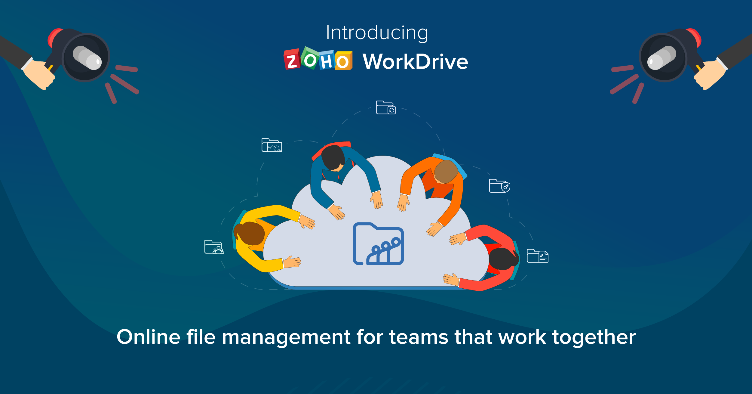 Zoho reinvents its cloud storage with WorkDrive