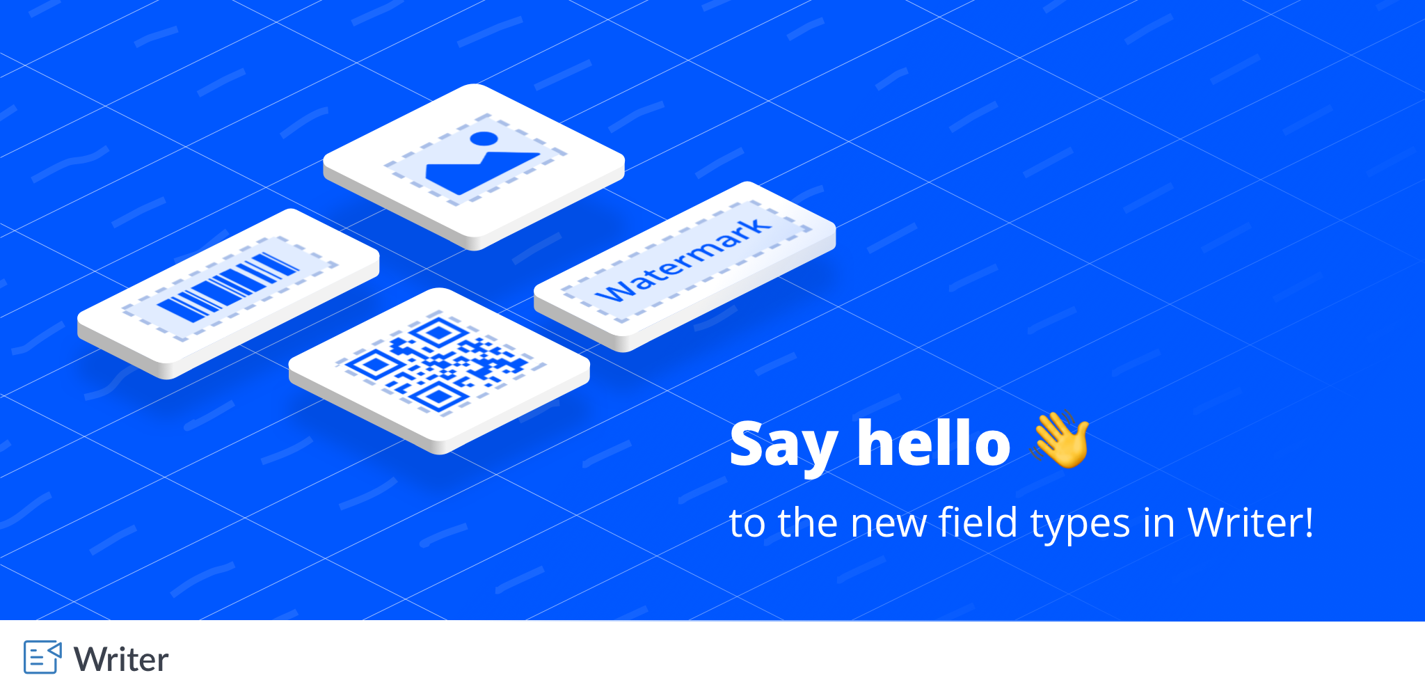 Introducing Writer's new merge fields: add QR Codes and more