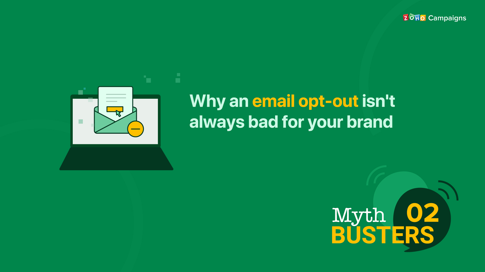 Why an email opt-out isn't always bad for your brand