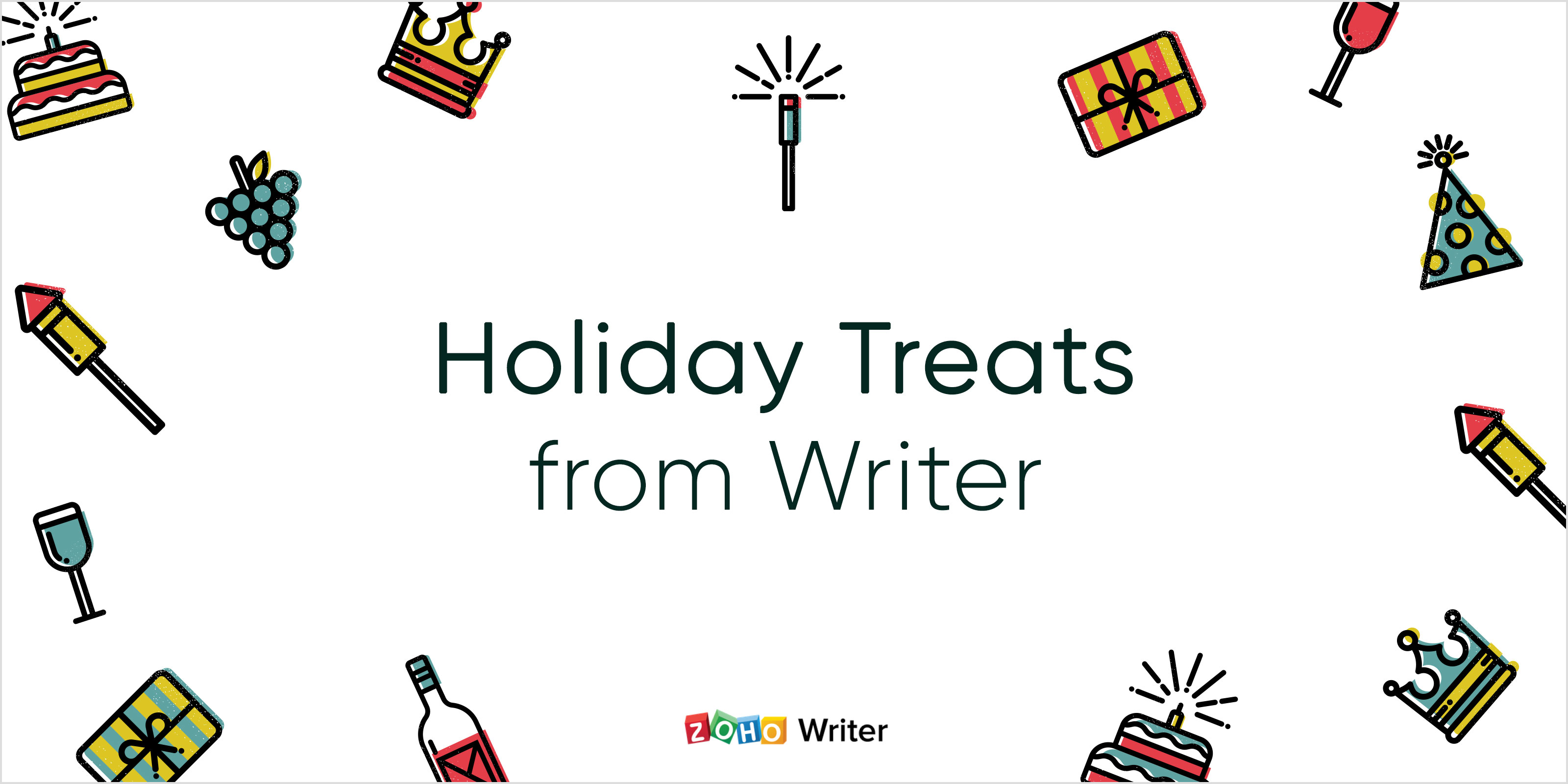 5 holiday treats from Writer