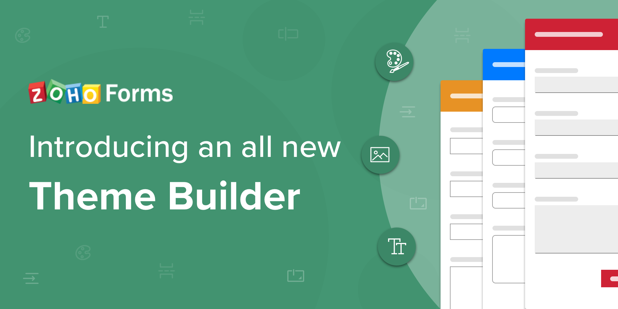 Meet Zoho Forms' upgraded Theme Builder