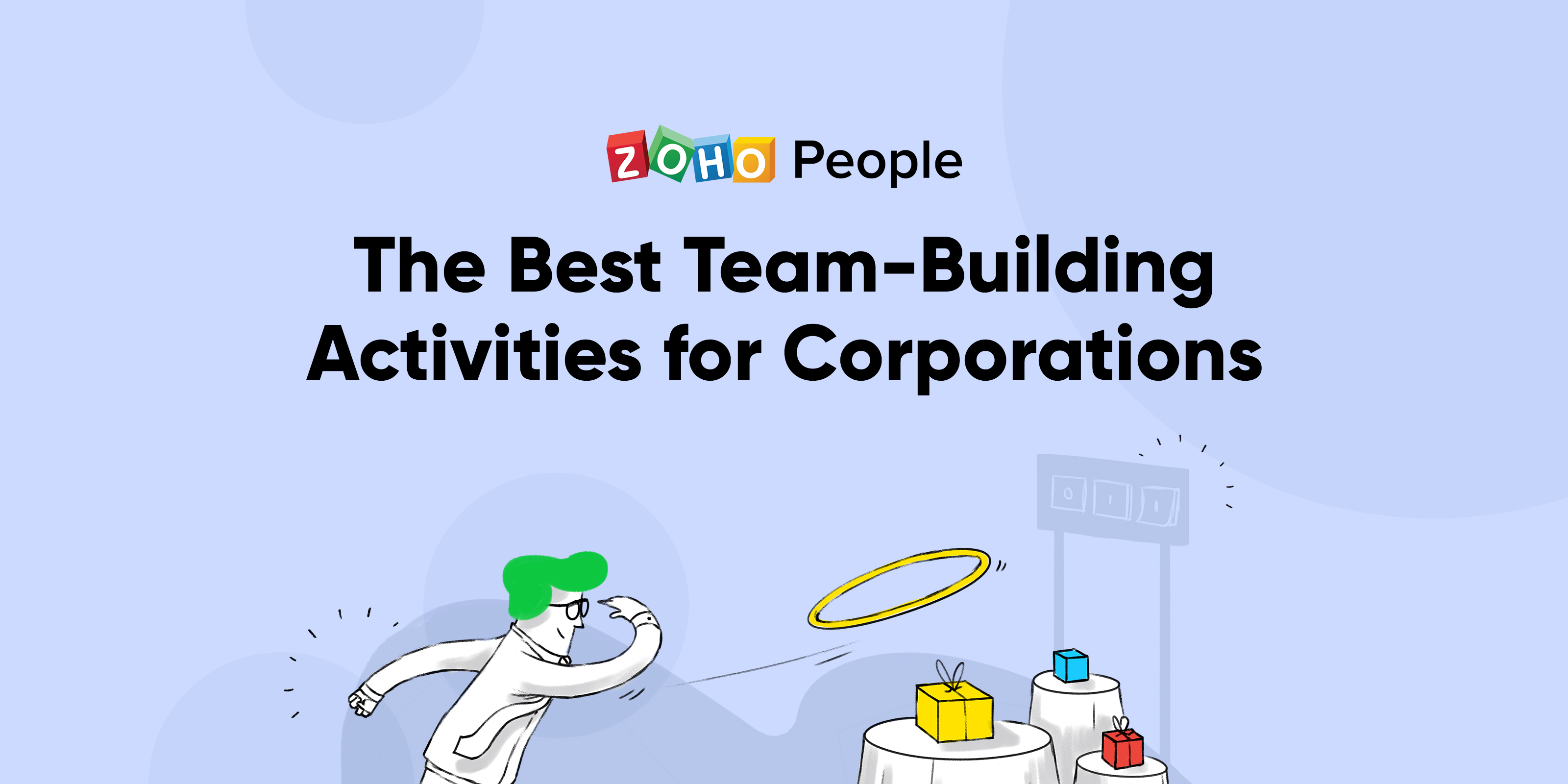 15 team-building activities for corporations.