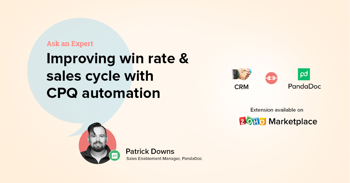 Ask an Expert: Improving win rate and sales cycle with CPQ automation