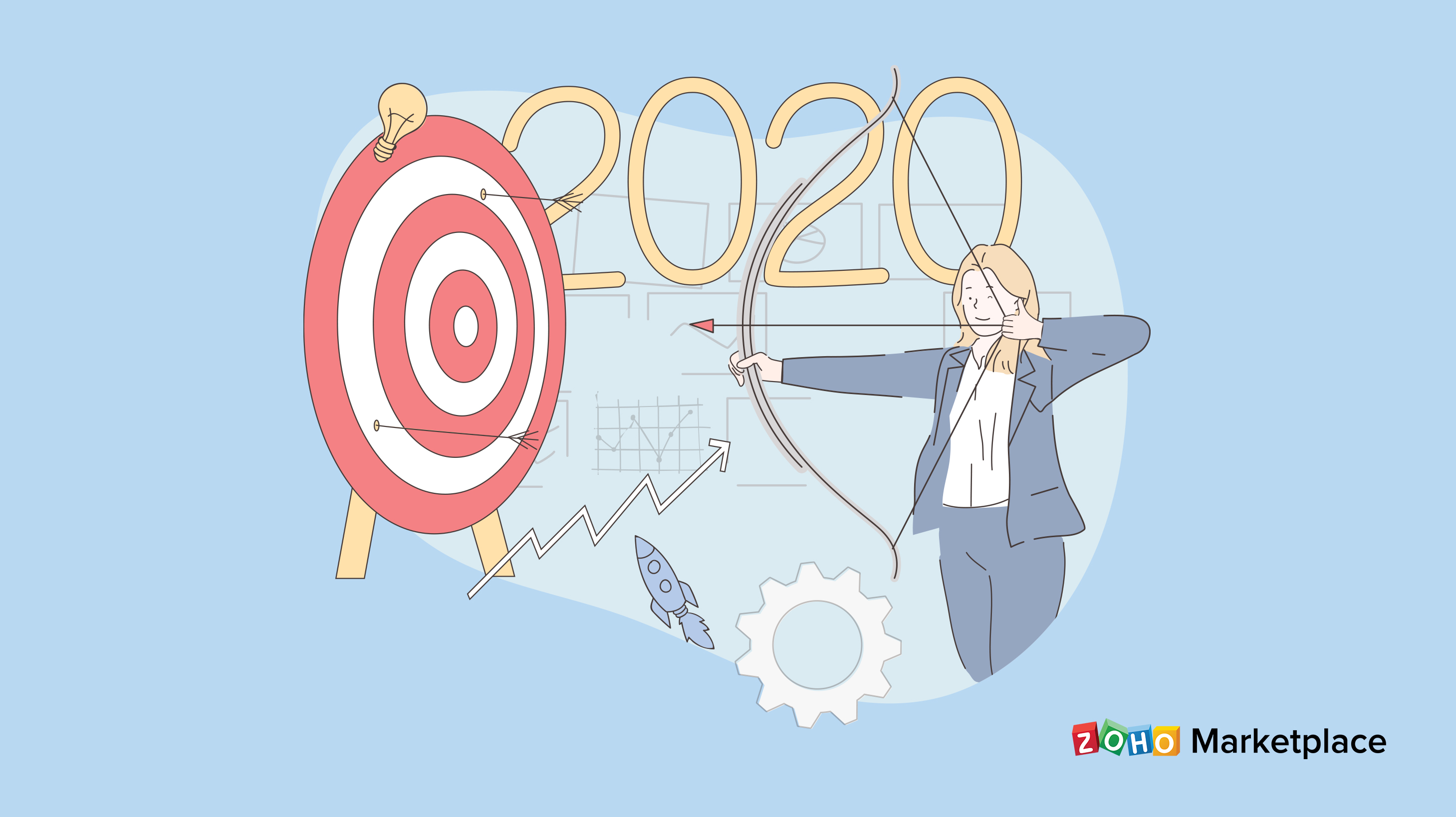 10 New Year's resolutions for your 2020 sales and marketing goals