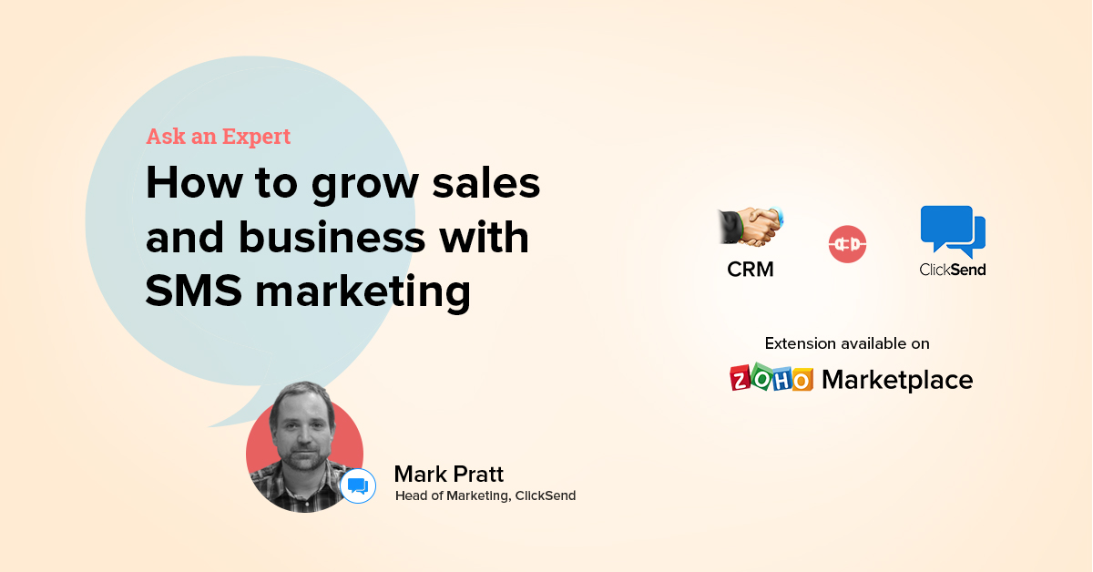 Ask an Expert: How to grow sales and business with SMS marketing