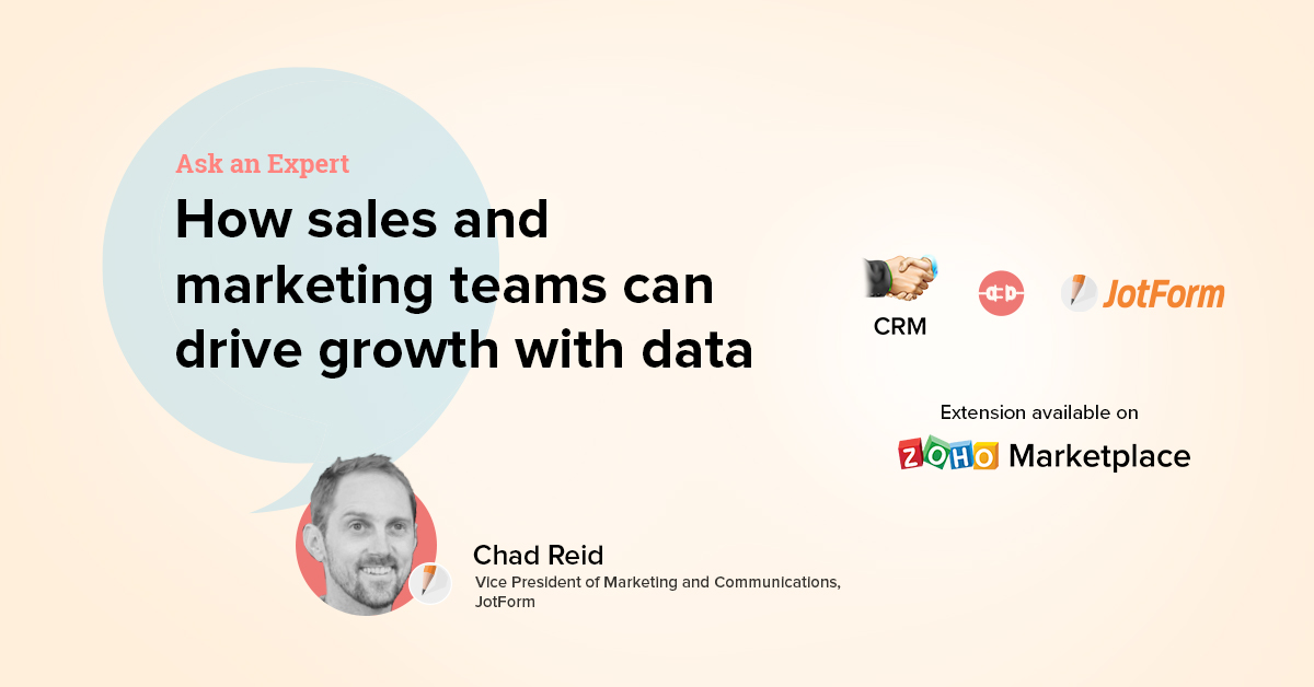 Ask an Expert: How sales and marketing teams can drive growth with data