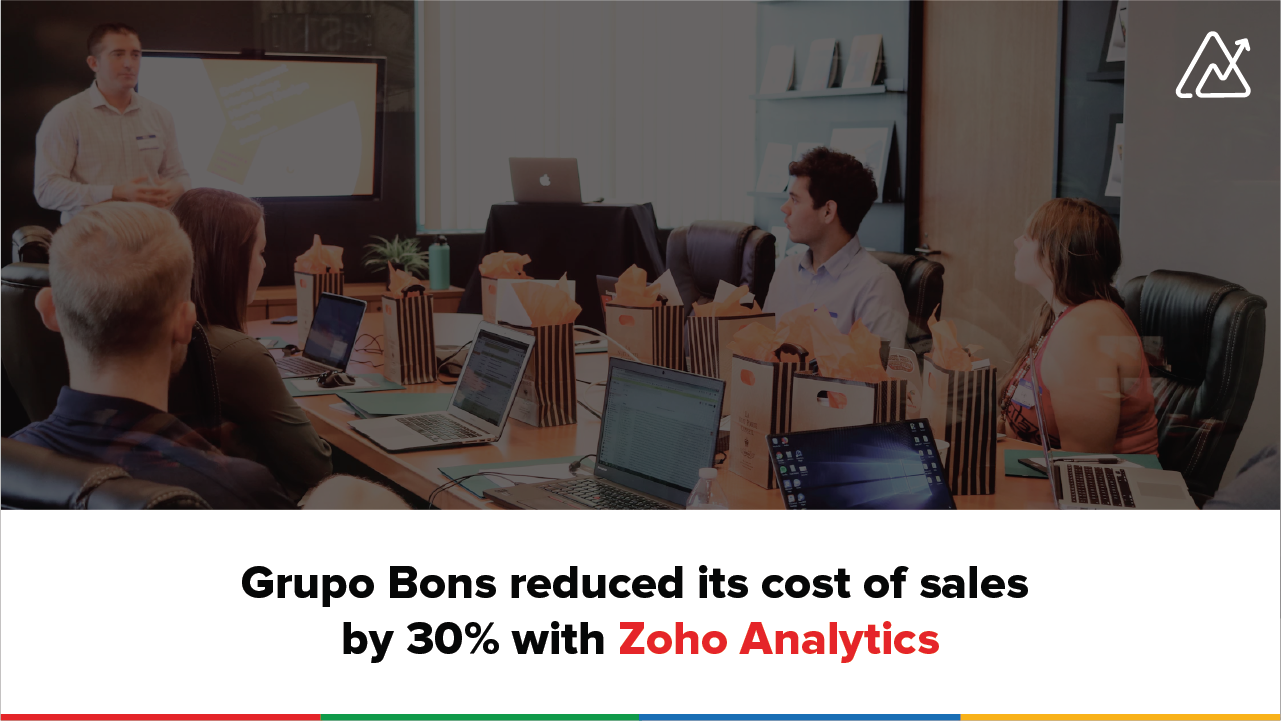 Customer Spotlight: Grupo Bons boosts business efficiency with Zoho Analytics