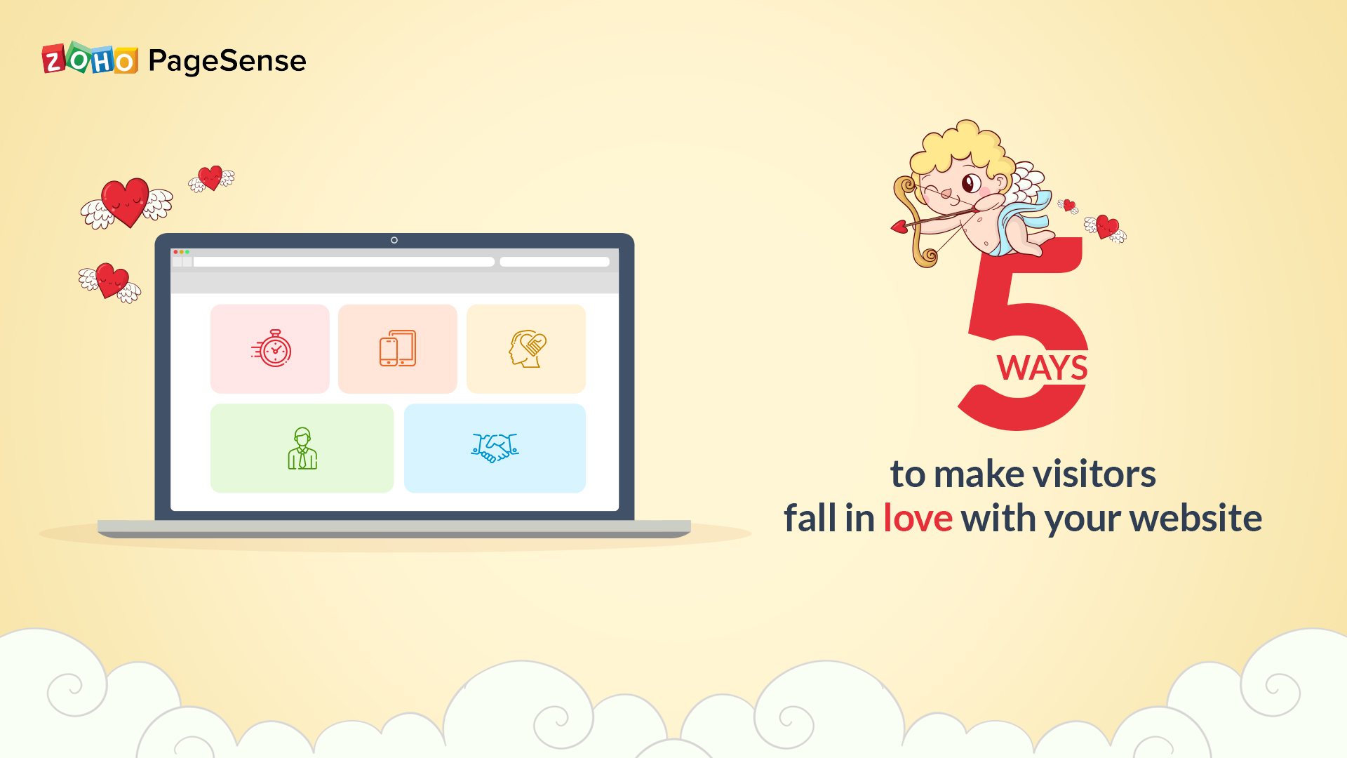 5 Ways to Make Visitors Fall in Love with Your Website
