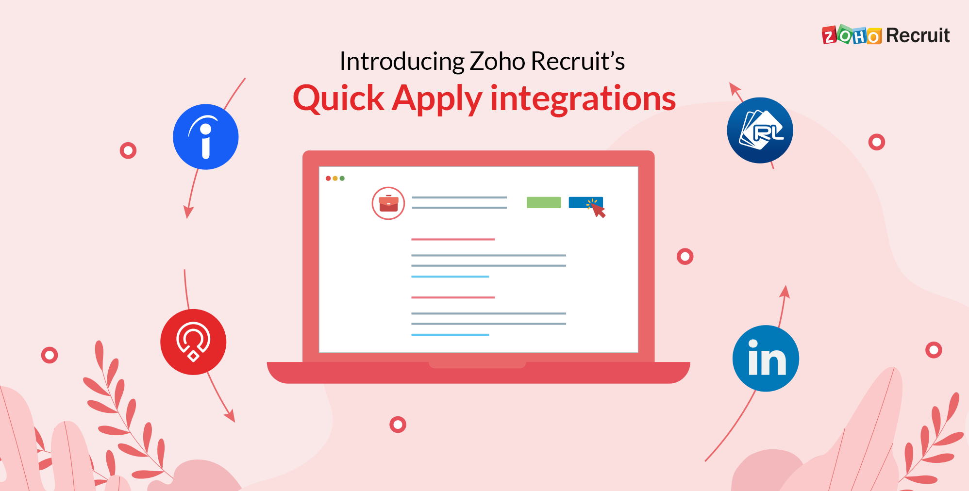 Candidate application experience made simple with Zoho Recruit