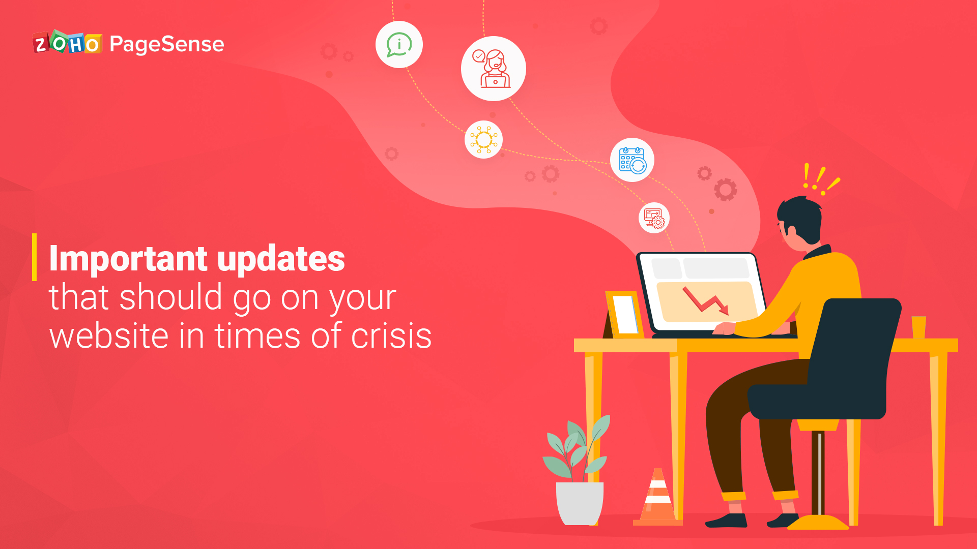 Important updates that should go on your website in times of crisis