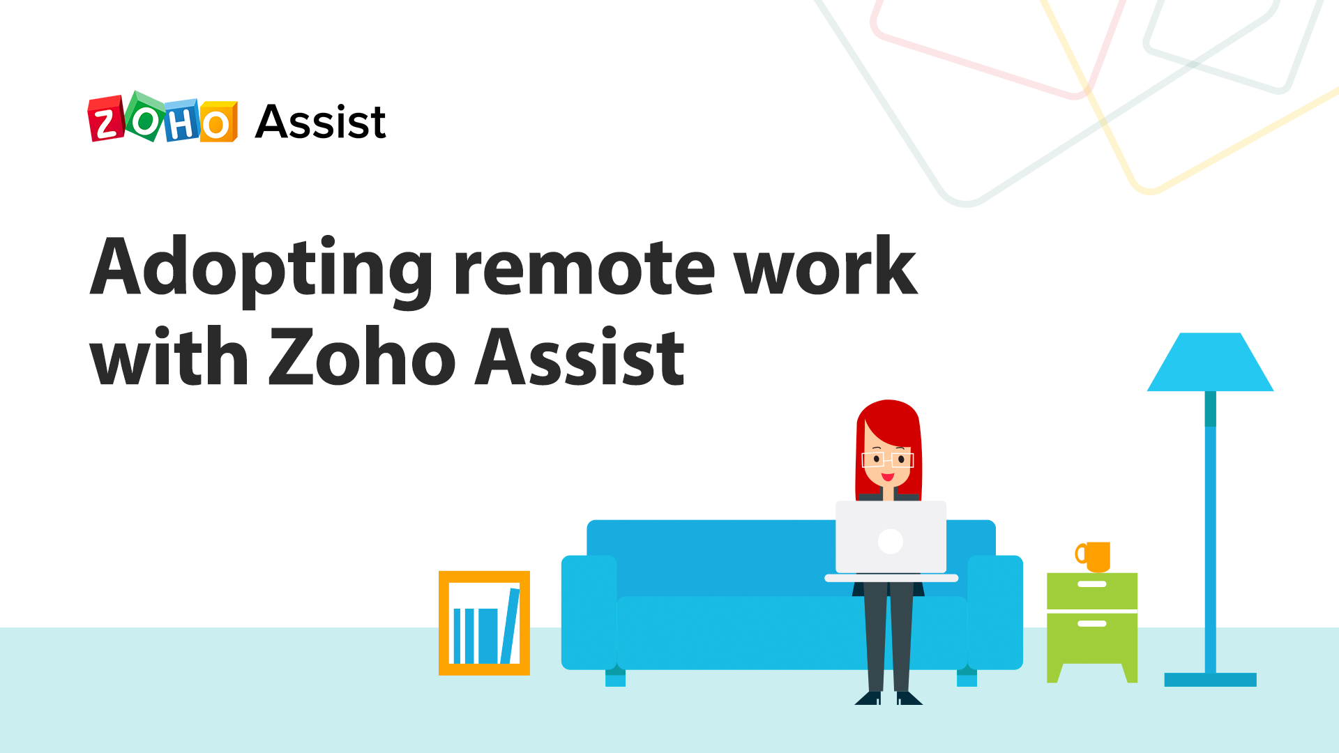 Adopting remote work with Zoho Assist: Extending 60-day free licenses with all premium features.