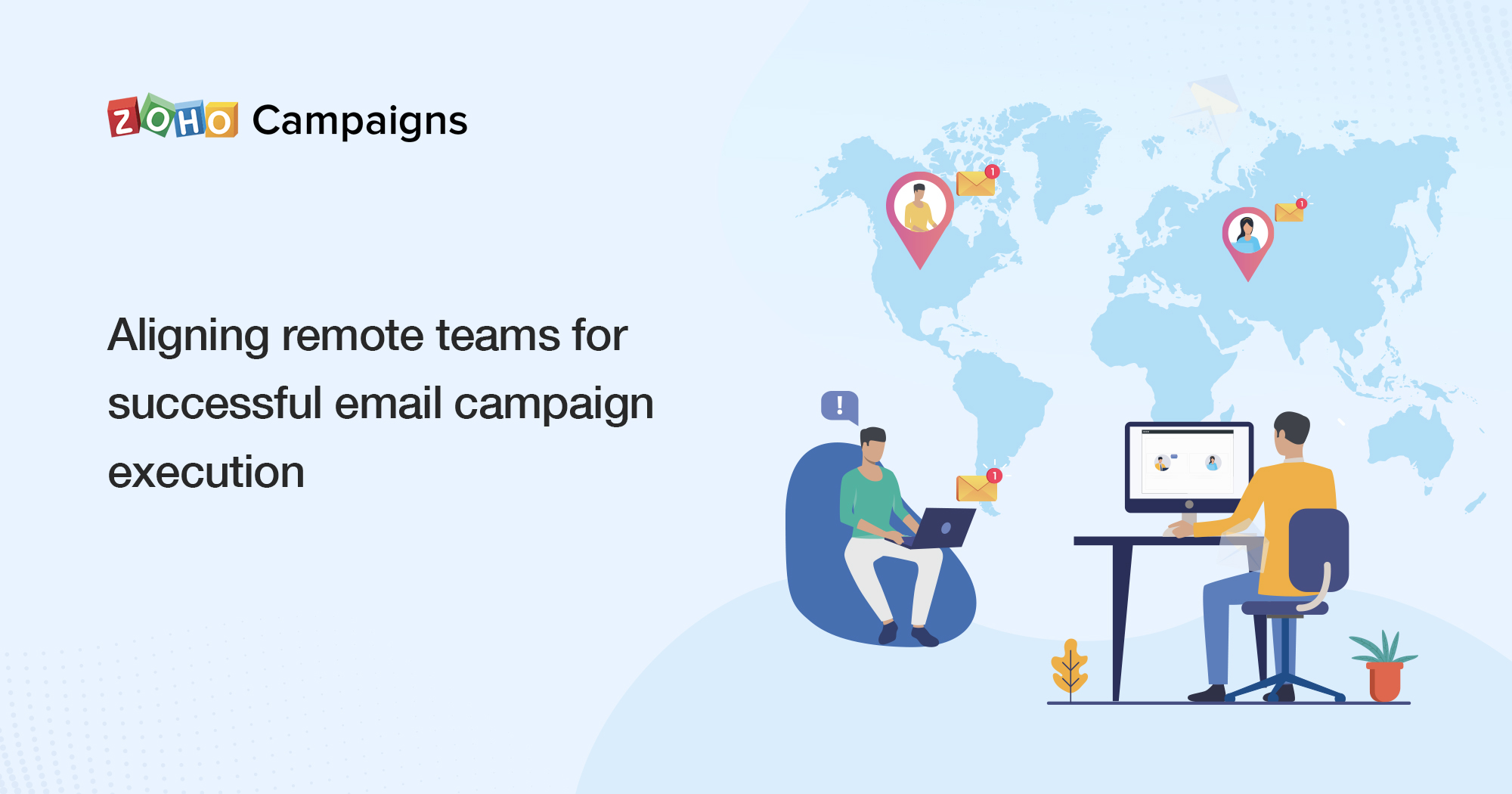 Aligning remote teams for successful email campaign execution