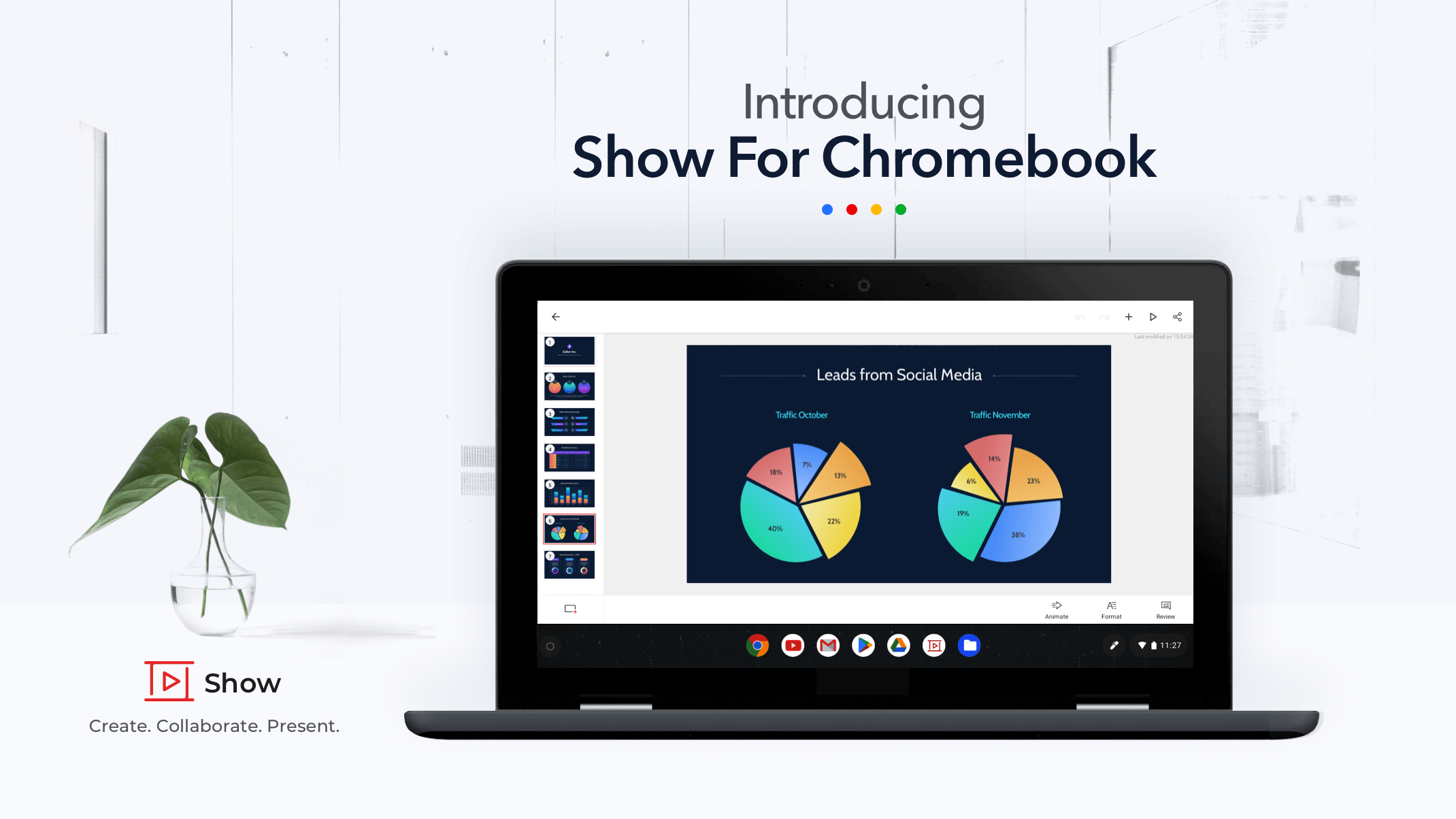 Introducing Zoho Show for Chromebook: An intuitive presentation tool perfect for your device