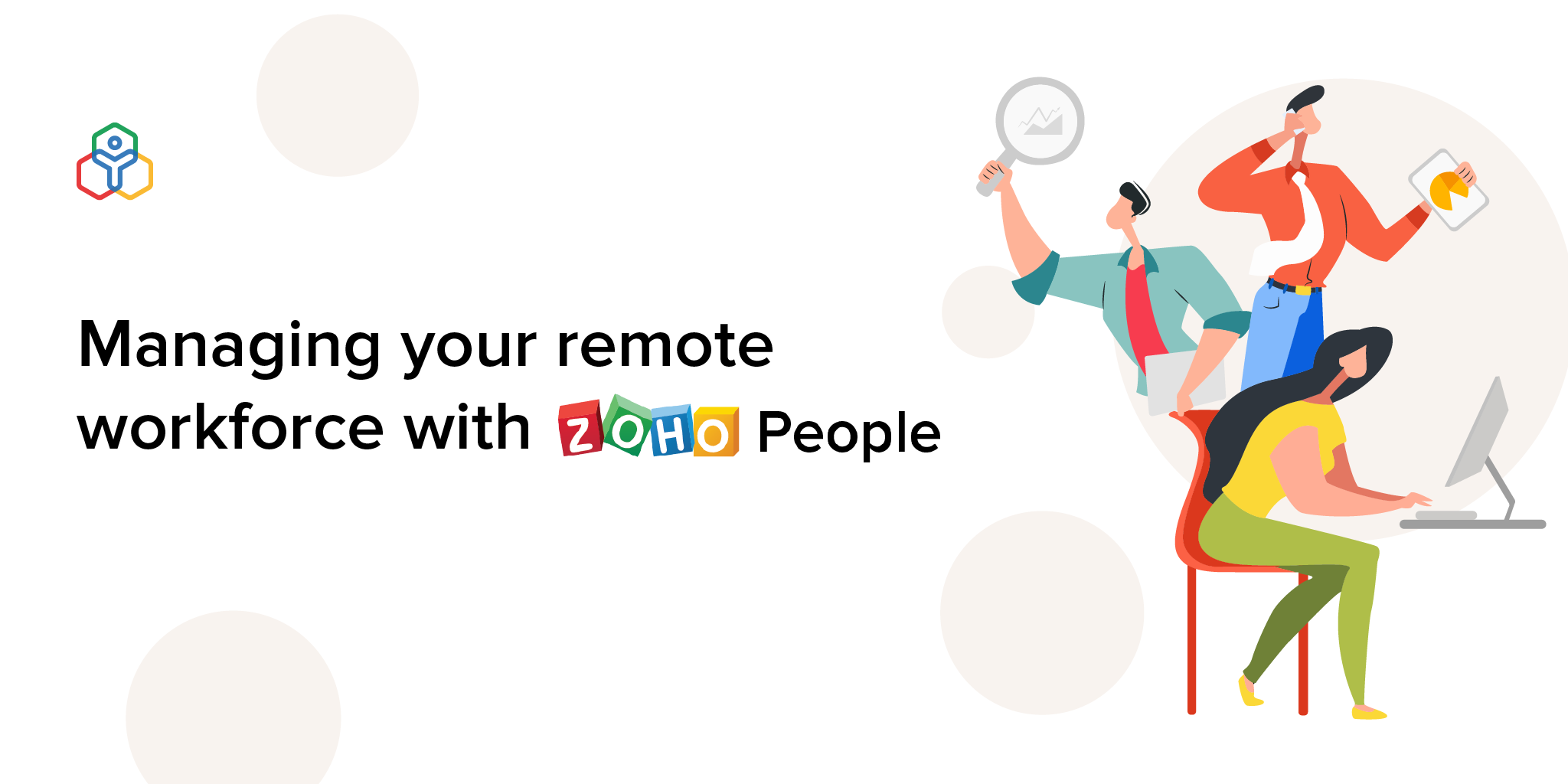 Here's how Zoho People eases remote workforce management