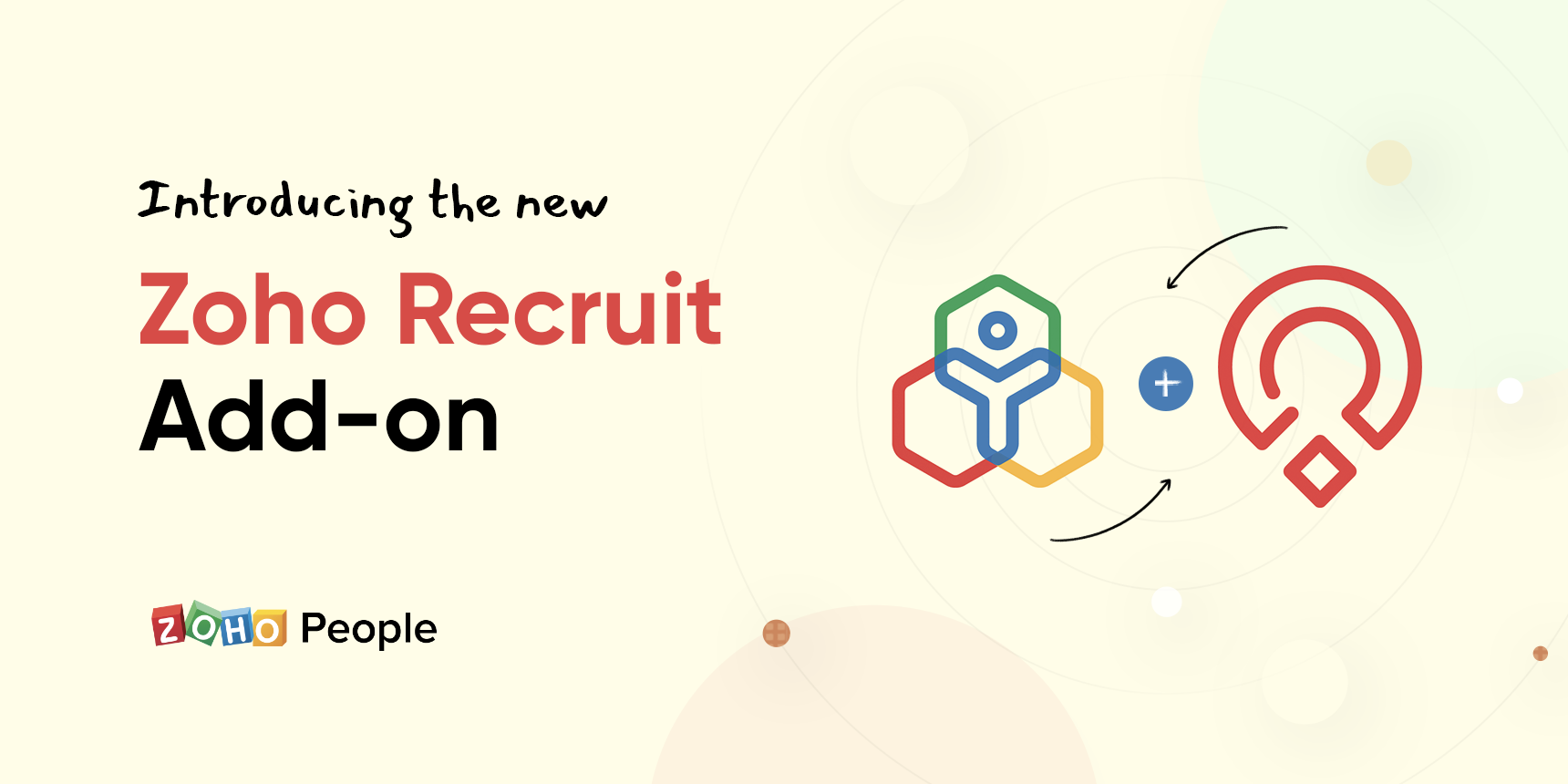 Sync users from People to Recruit with our Zoho Recruit add-on