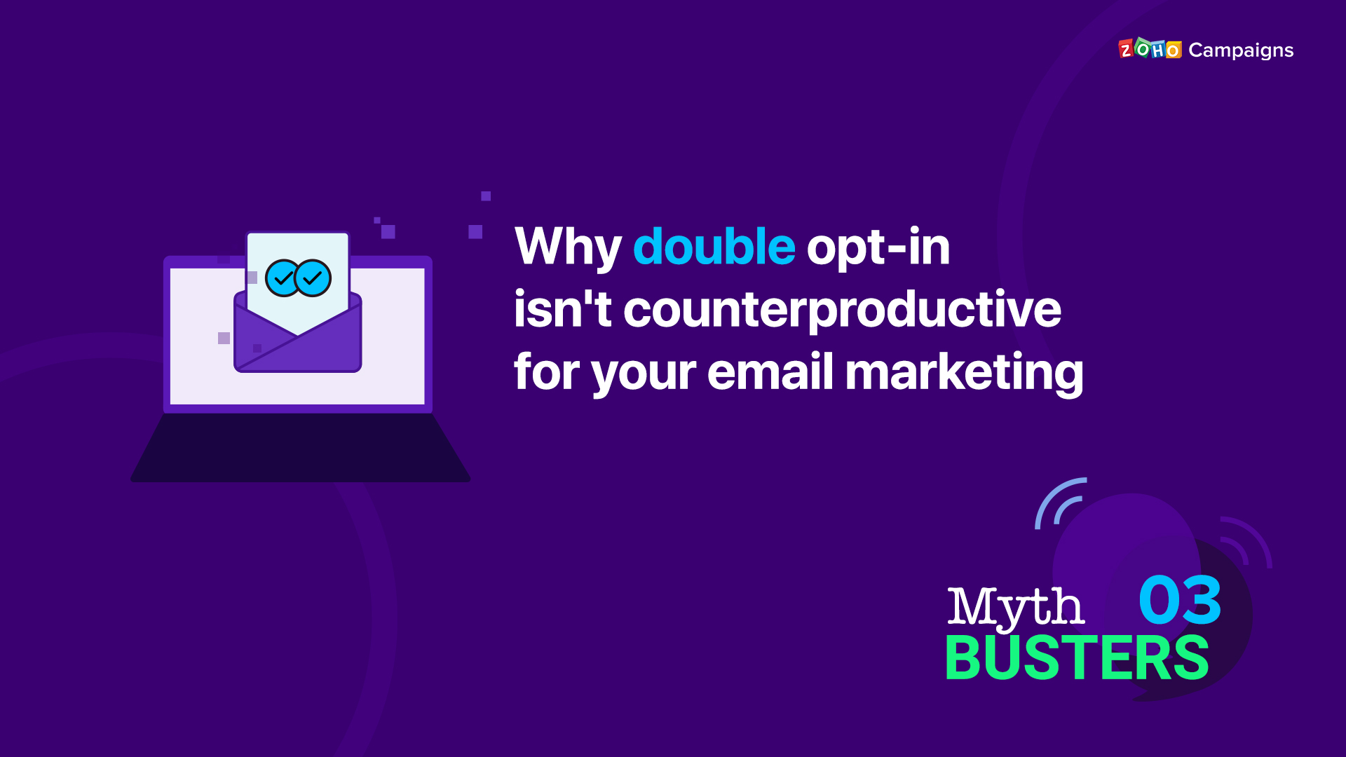 Why double opt-in isn't counterproductive for your email marketing