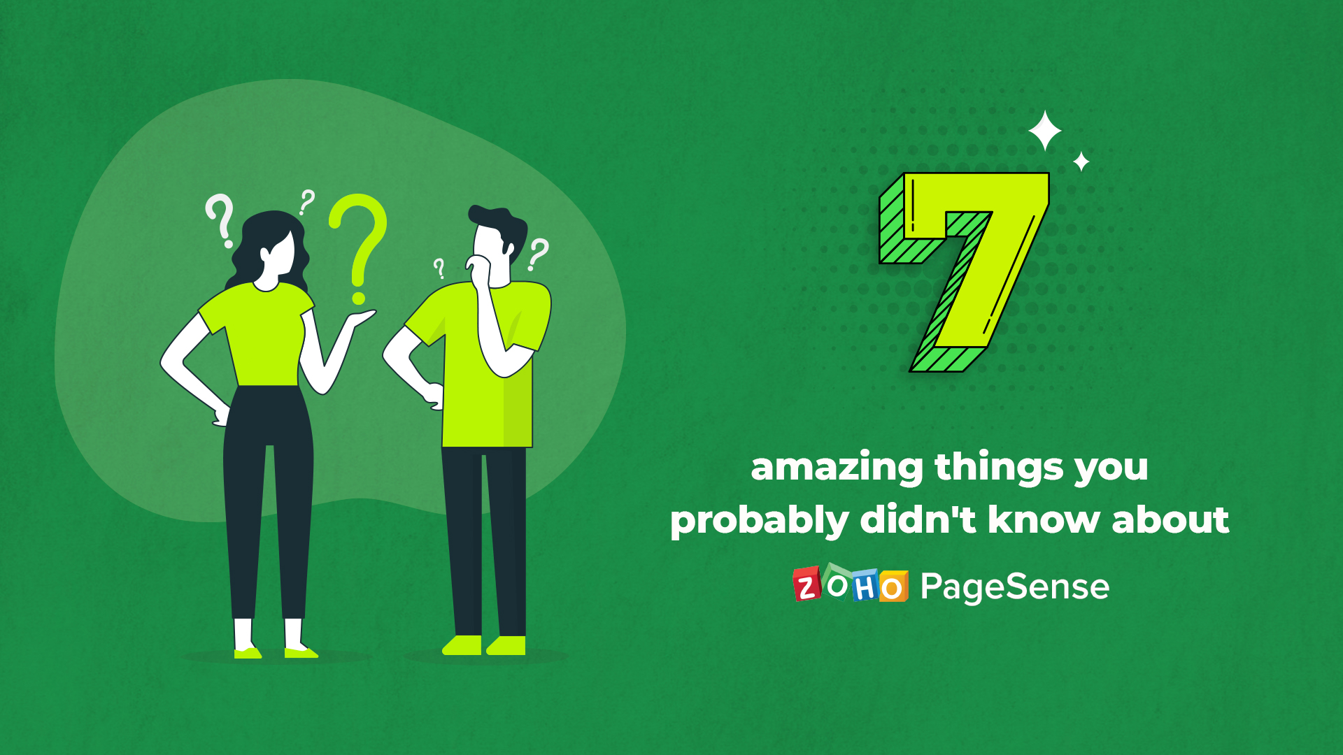 7 Amazing Things You Probably Didn't Know About Zoho PageSense