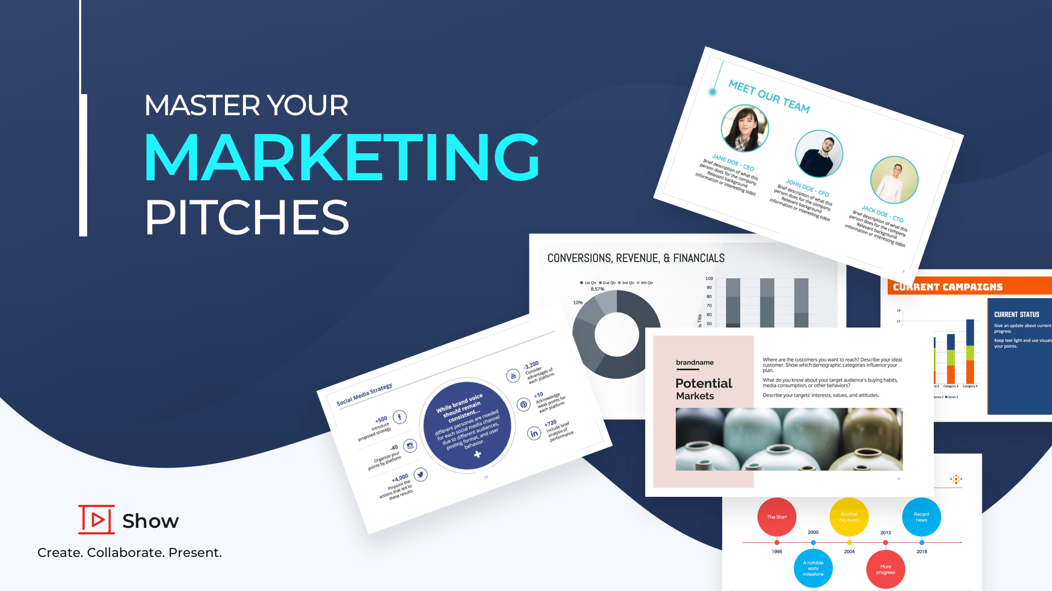 How to ace your marketing presentations?
