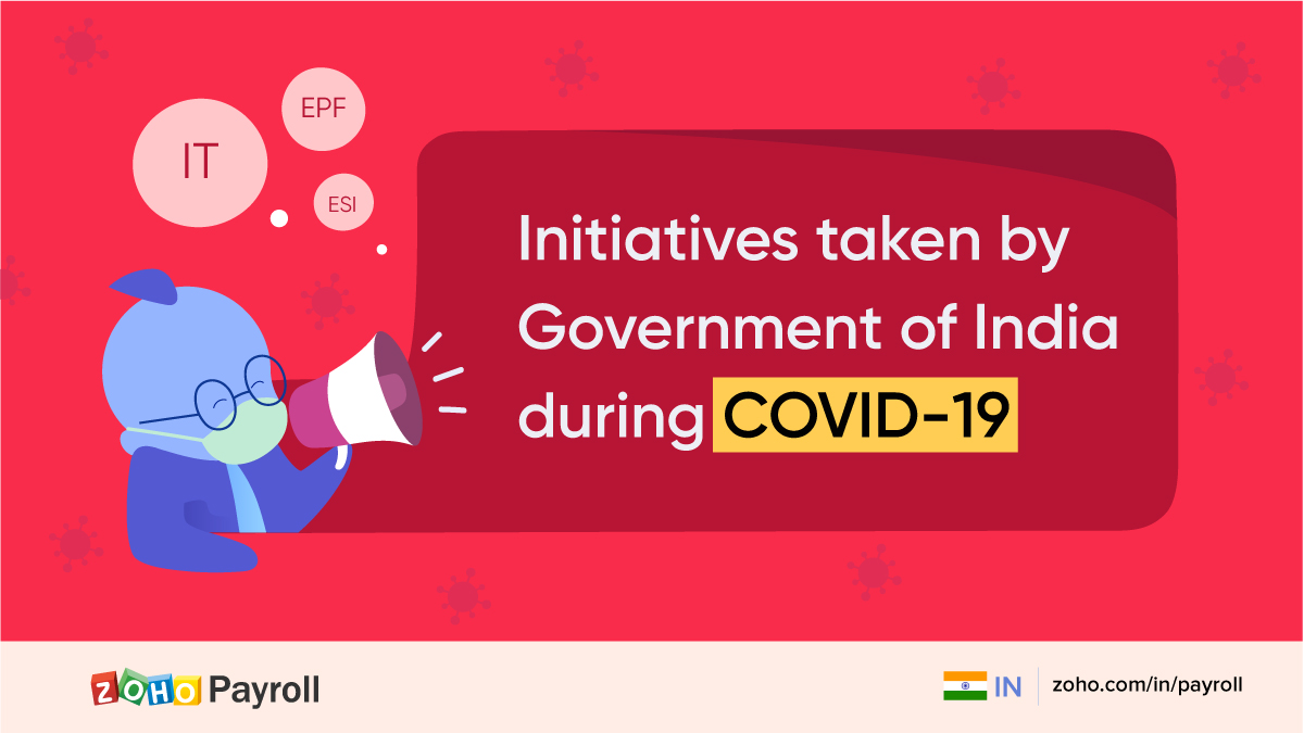COVID-19: Initiatives taken by the Government of India