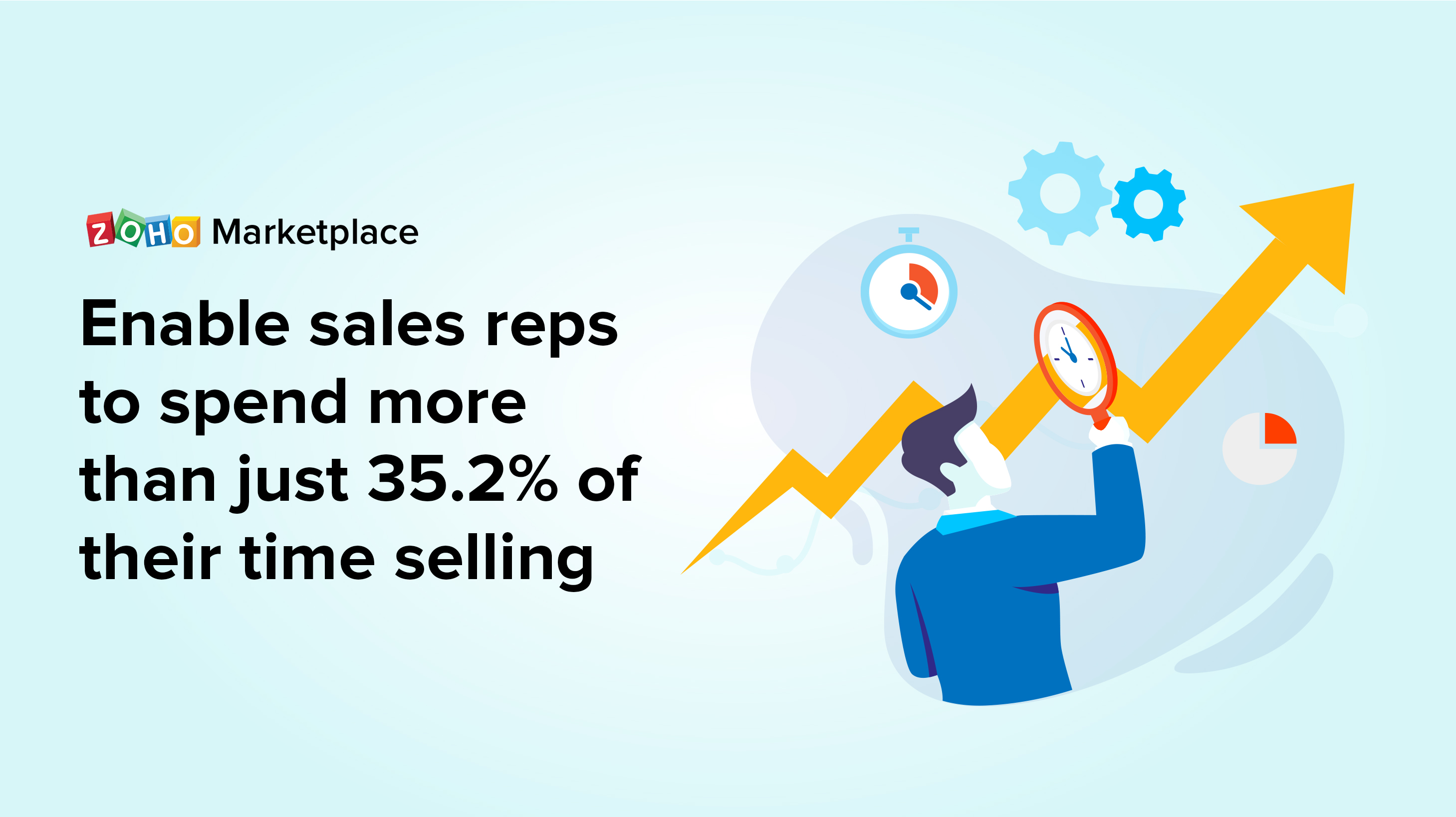 Strategies to enable sales reps to spend more time selling